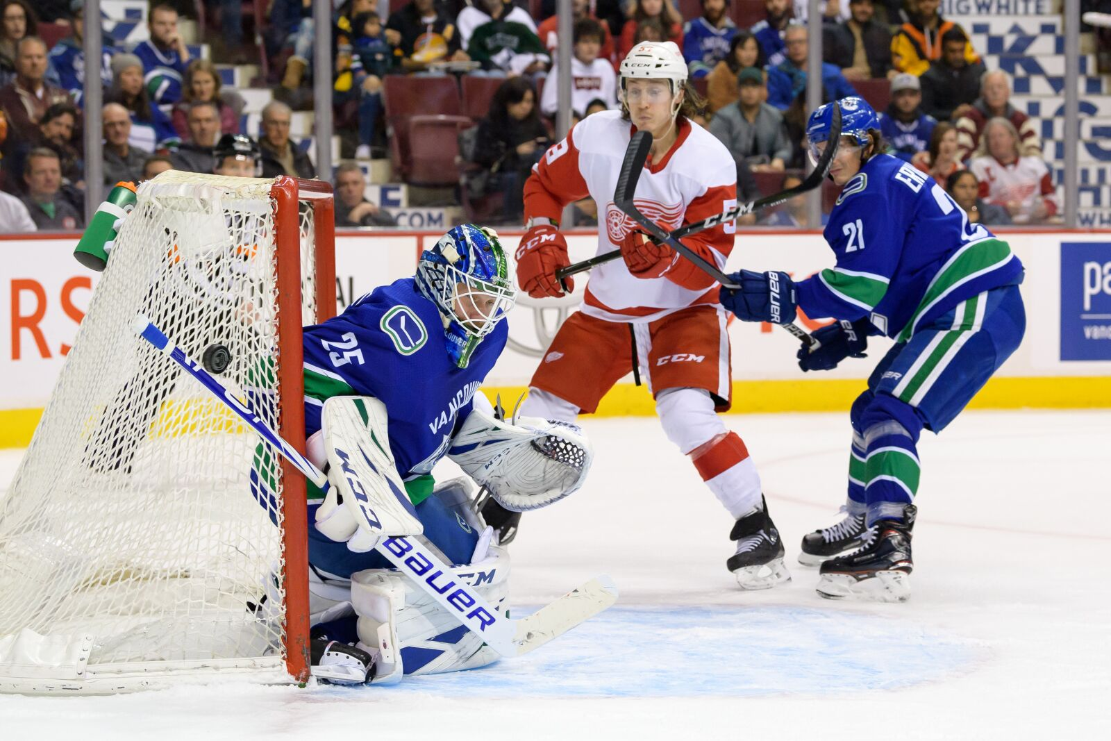 Vancouver Canucks gameday: Clash with Detroit Red Wings