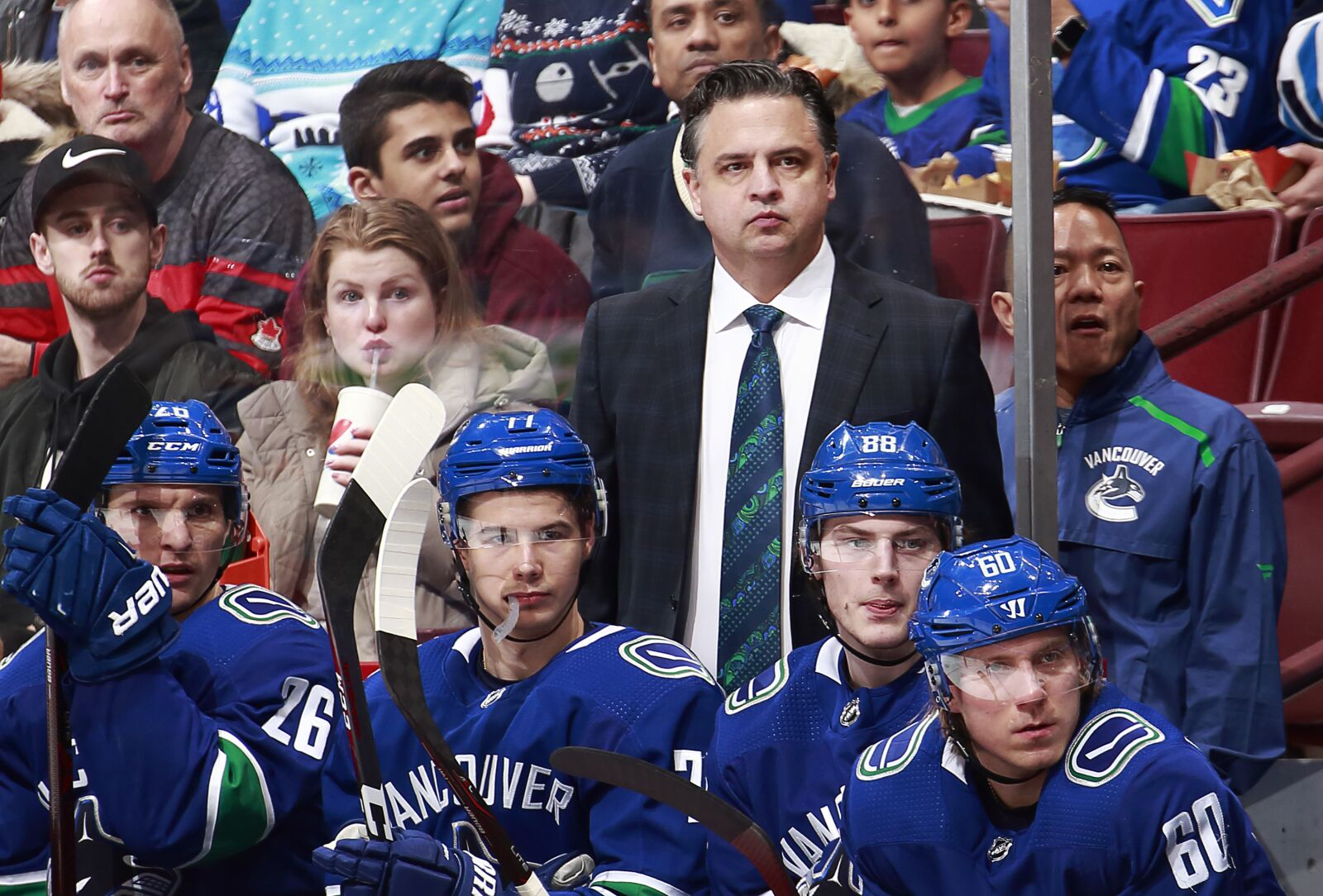 eaff9a204 Vancouver Canucks  2018-19 Mid-season report cards