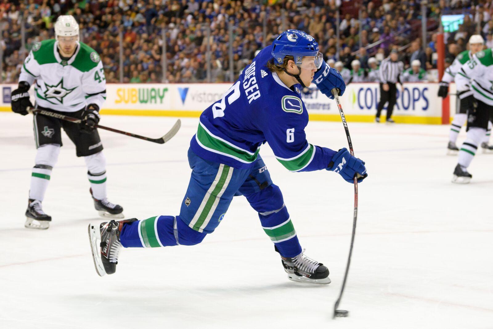 Vancouver Canucks on the trend: Brock Boeser