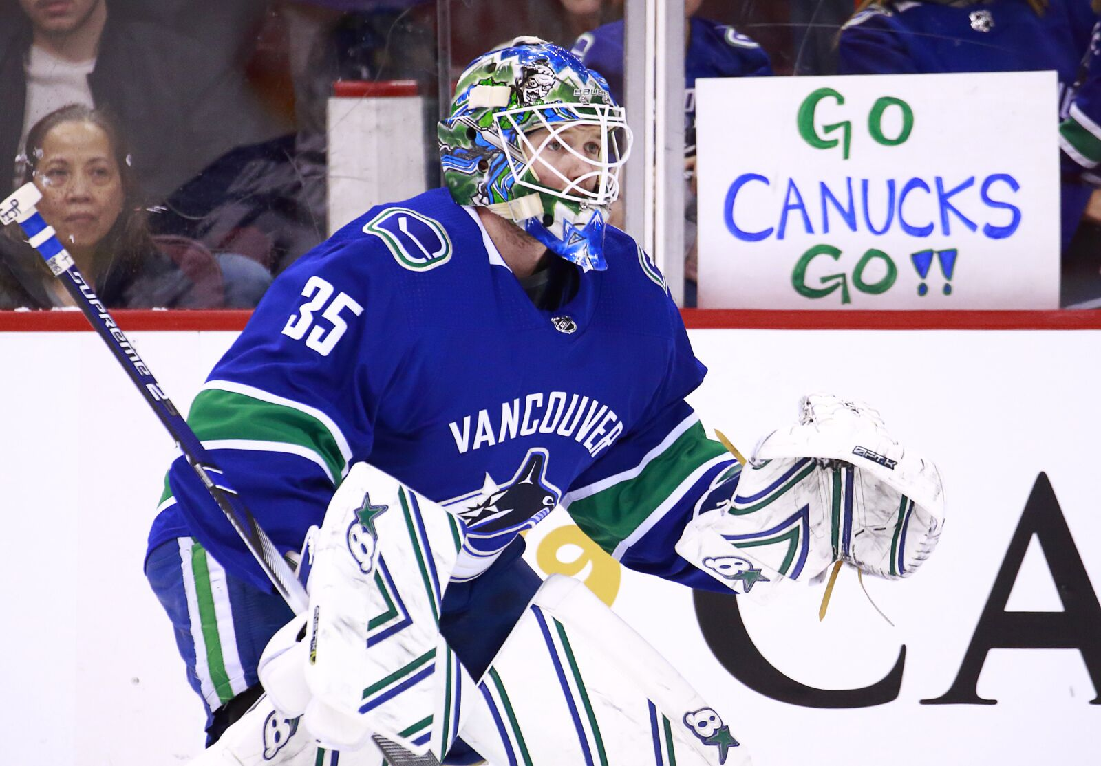 Vancouver Canucks: The Athletic ranks Thatcher Demko as top goalie prospect
