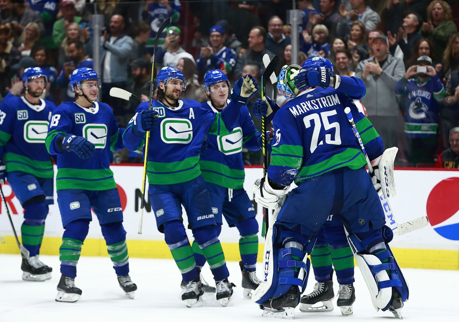 Full Vancouver Canucks alternate jersey game schedule