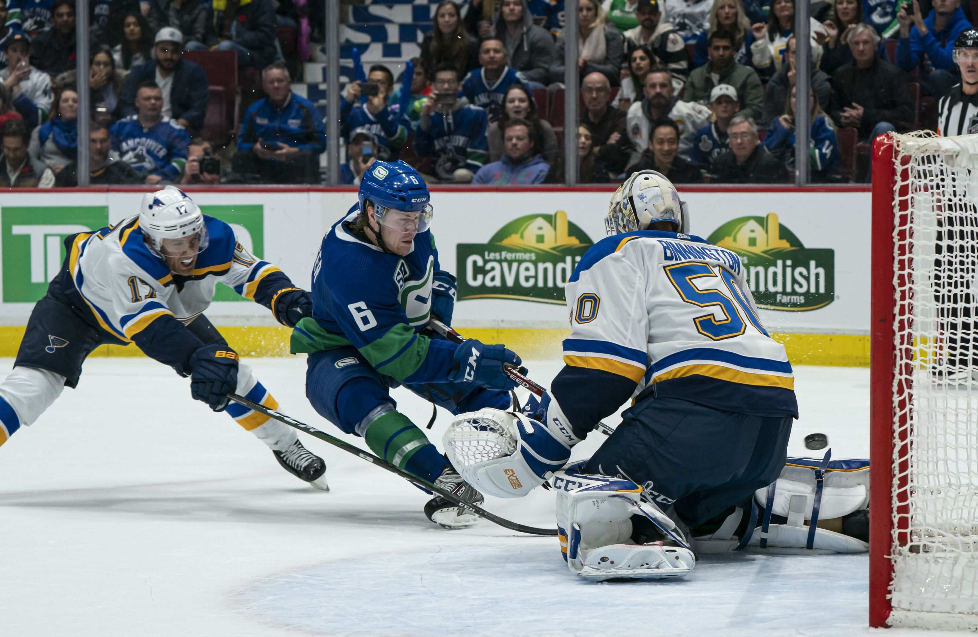 Canucks gameday: Battle of the division leaders