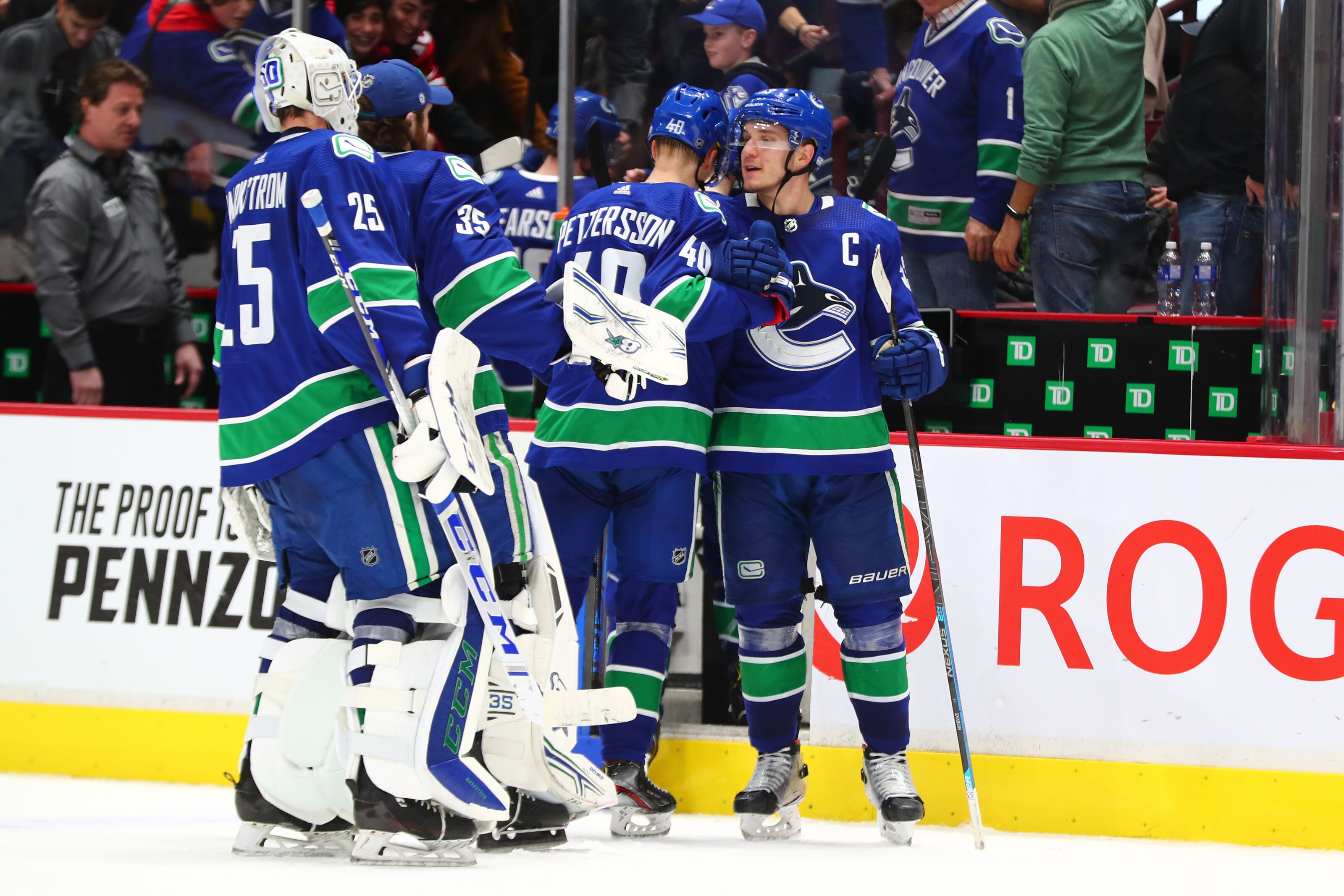 5 Reasons why the Canucks are first place in the Pacific Division