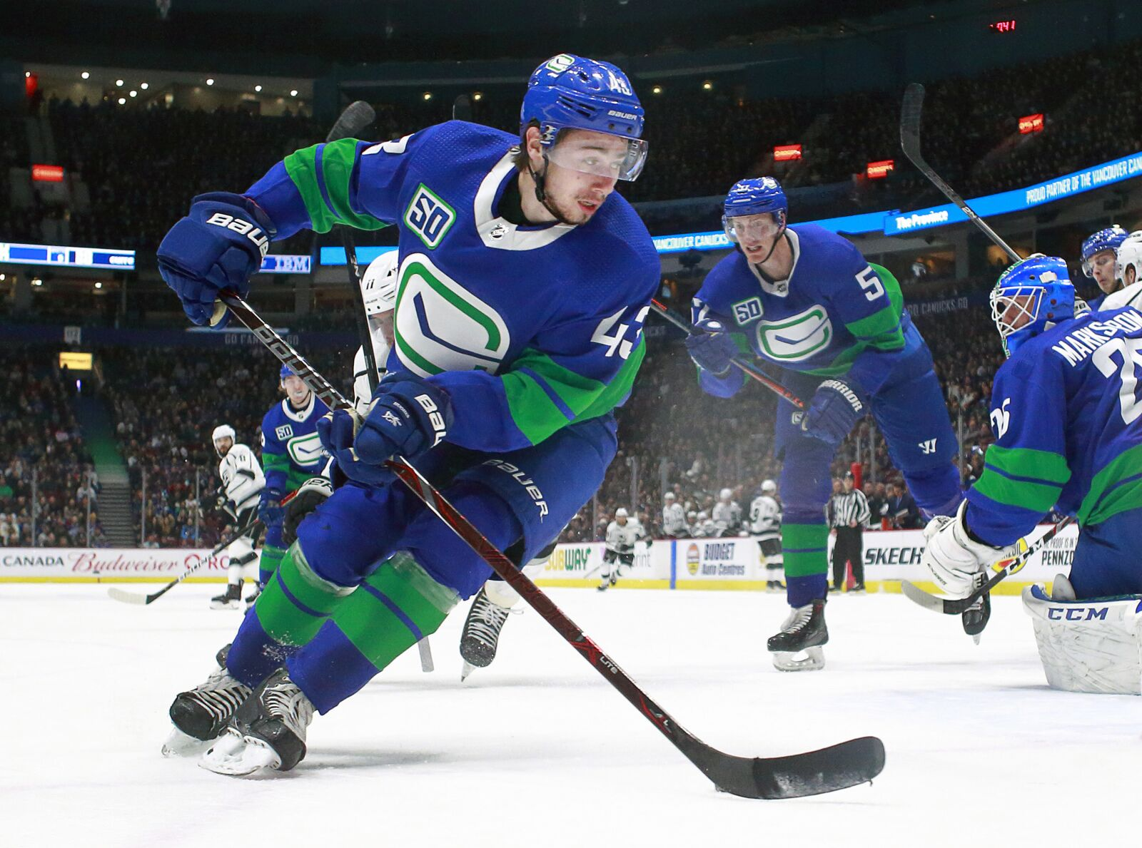 Canucks will be battle-tested during upcoming road trip