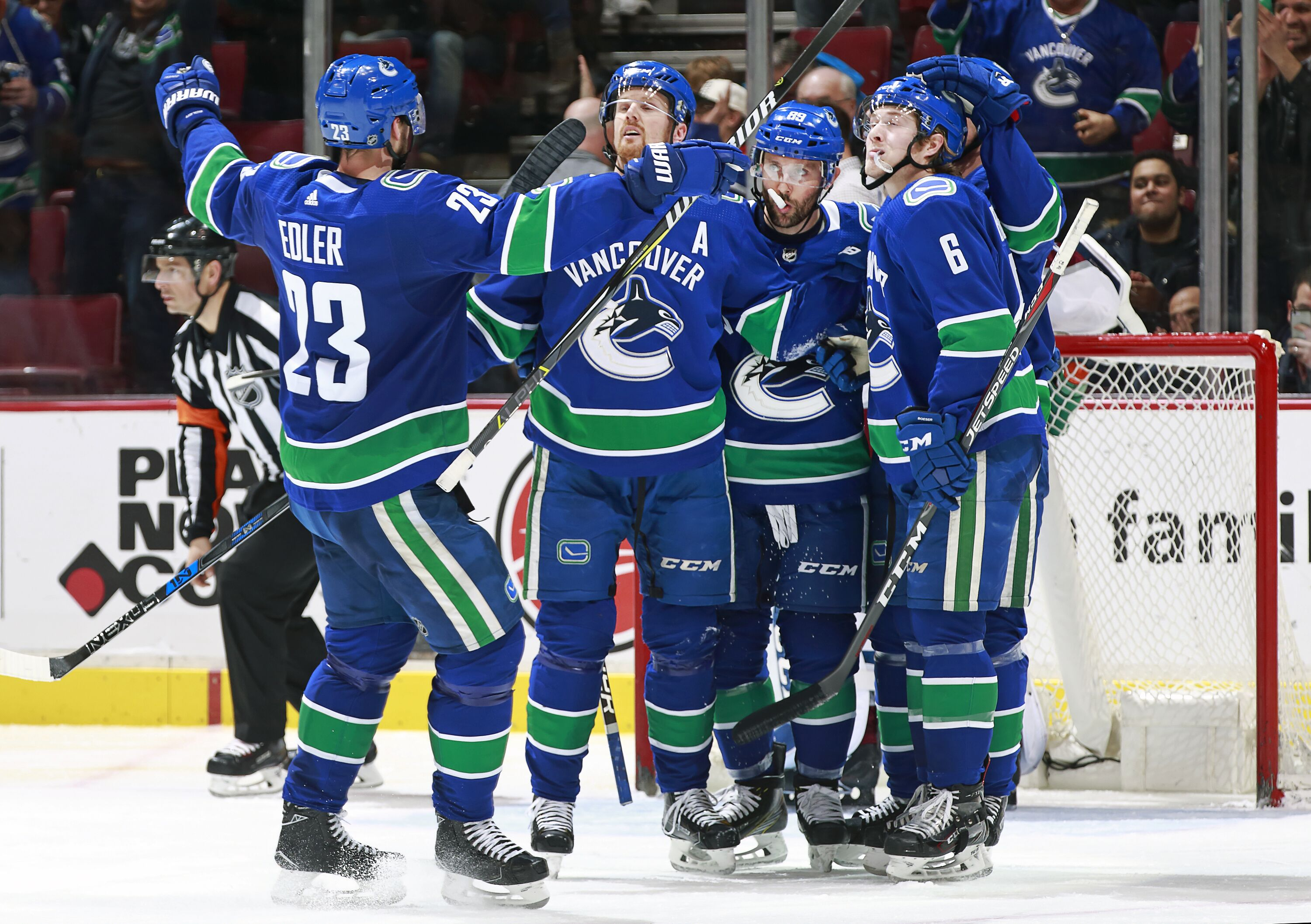 vancouver canucks games