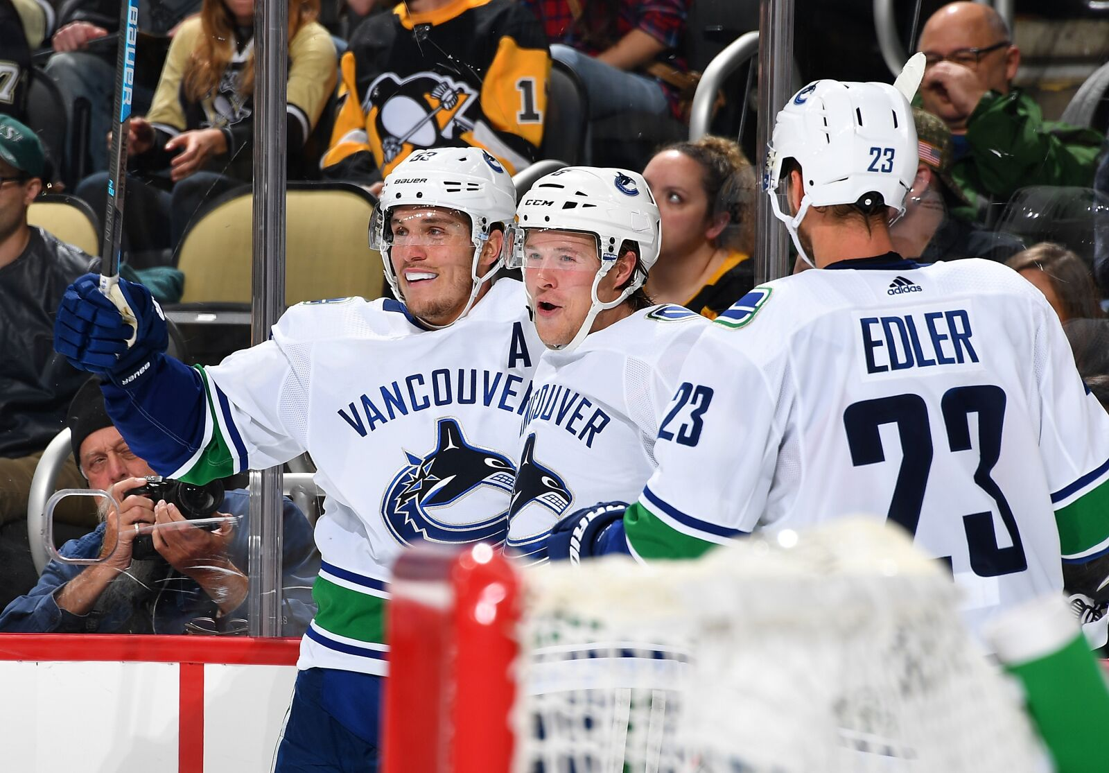 Vancouver Canucks  Brock Boeser scores 78b0a28f2