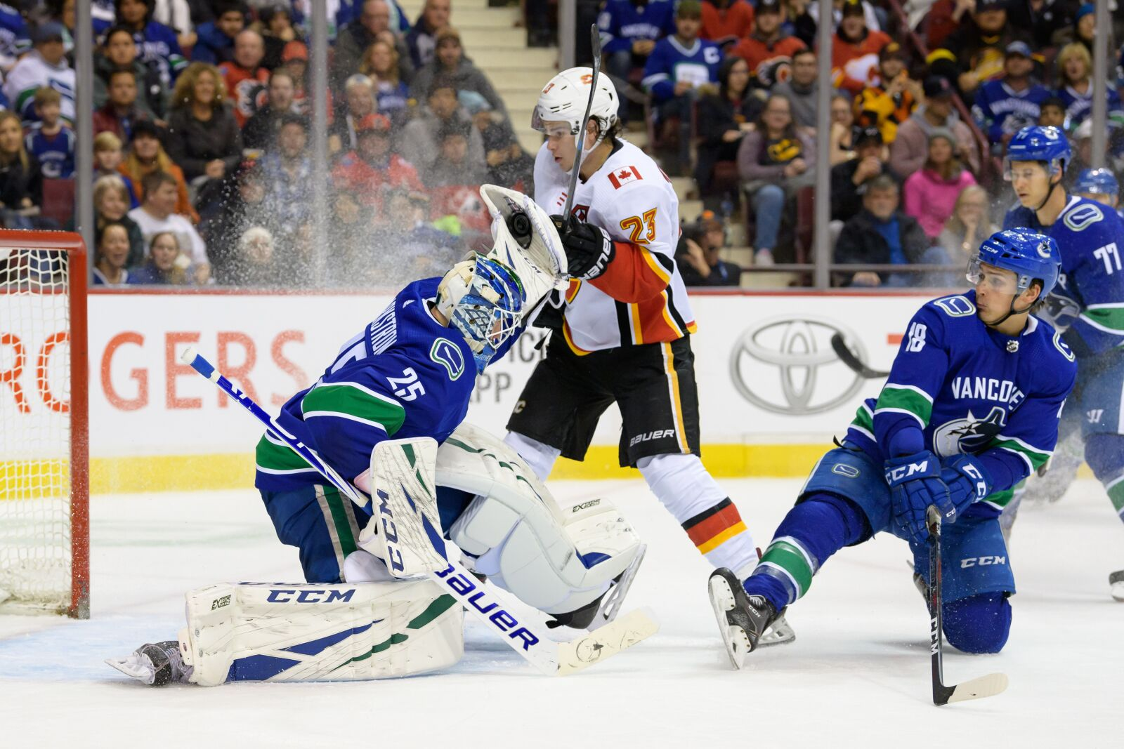 Vancouver Canucks: 3 takeaways from 4-3 win over Calgary Flames
