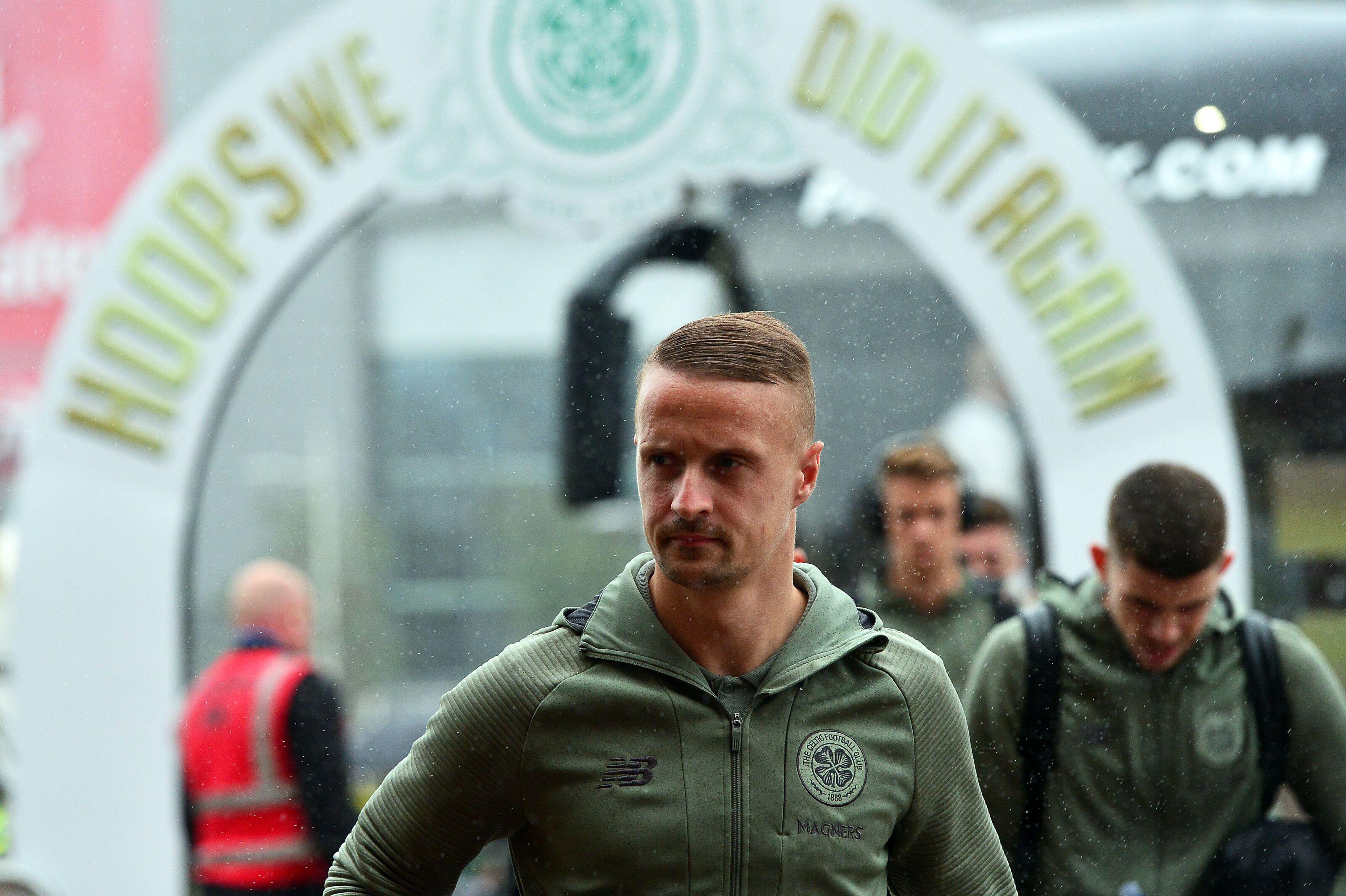 Lennon provides Griffiths update amid Celtic exit rumours