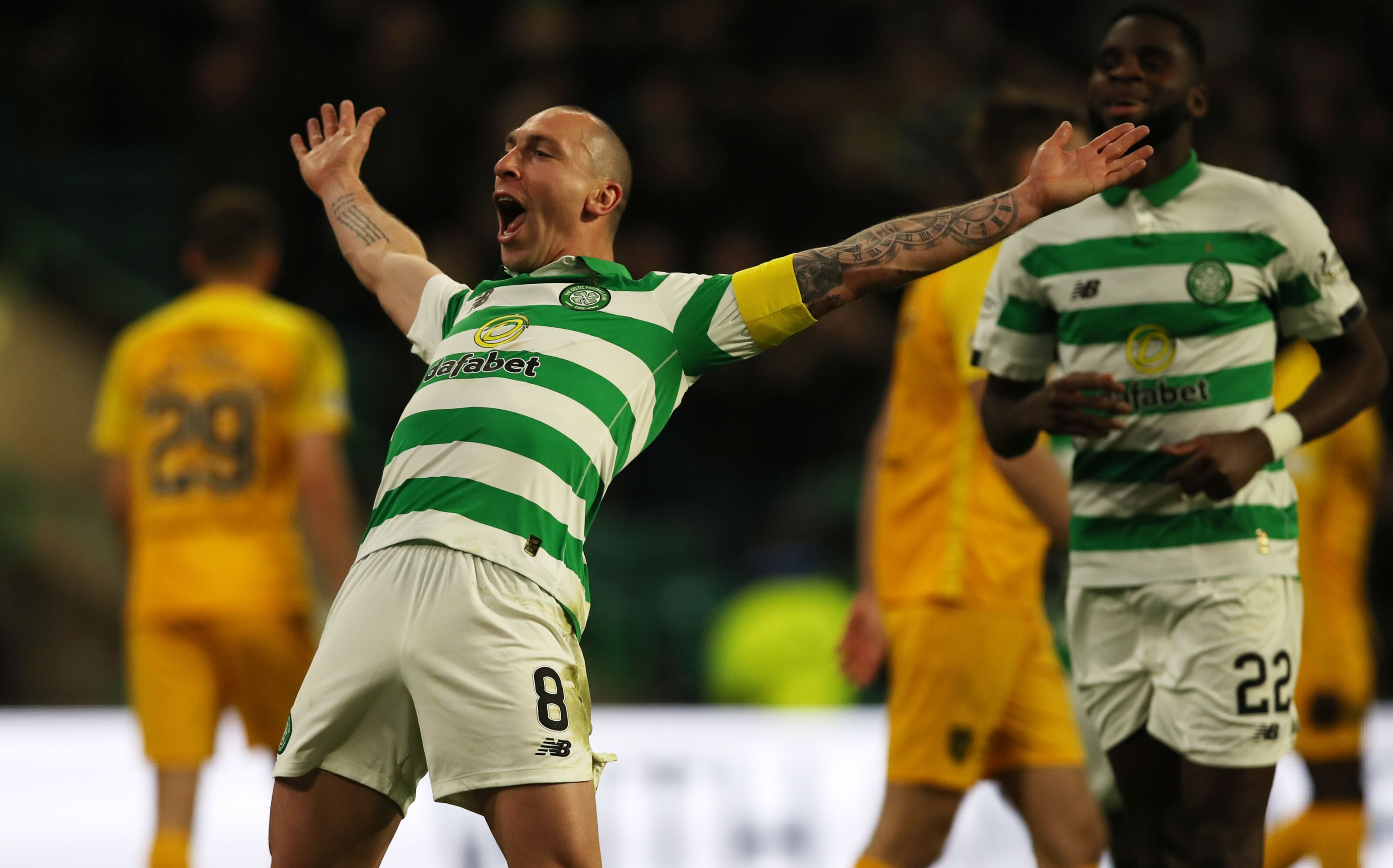 Celtic Player Ratings vs Hamilton: Scott Brown Saves the Day