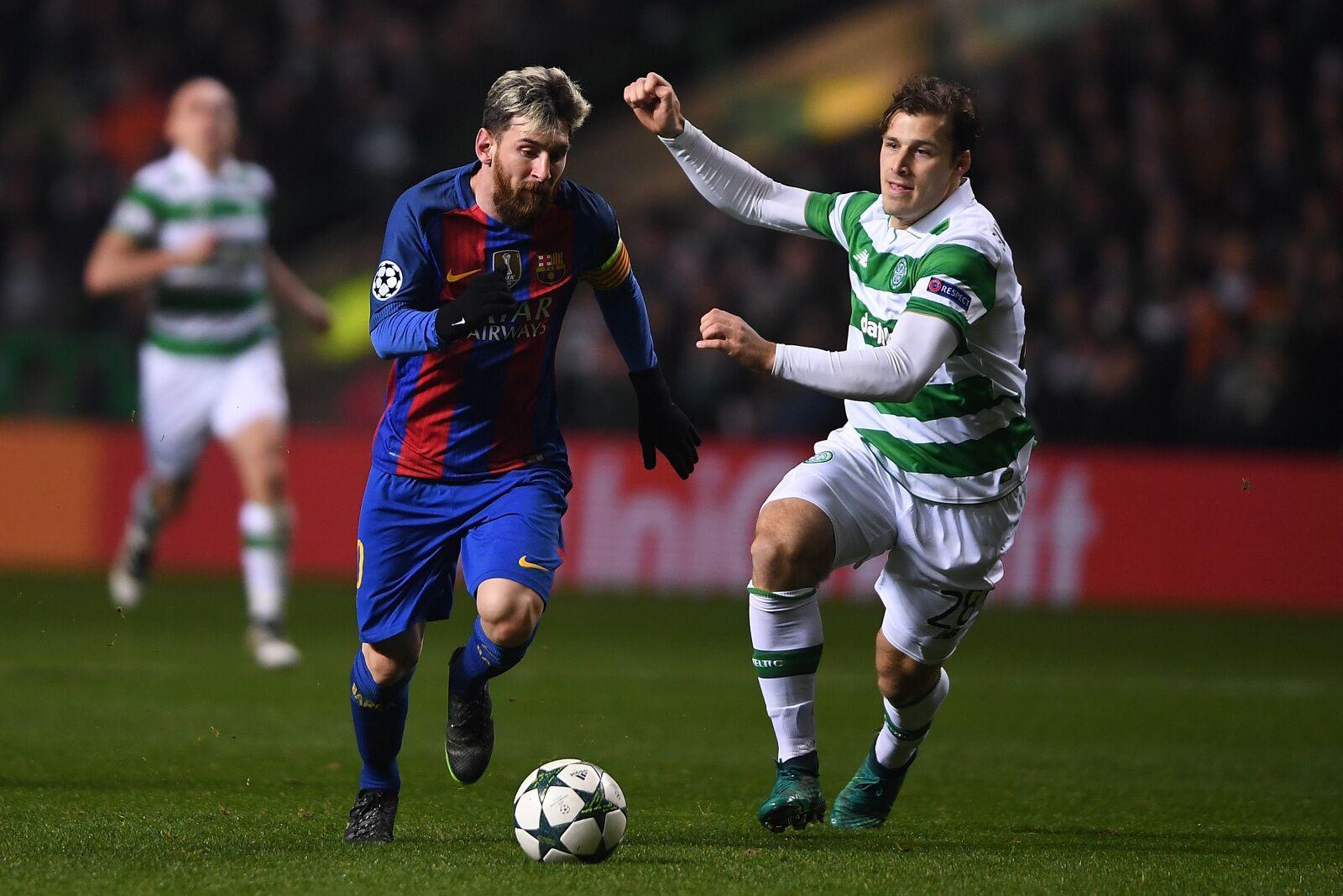 Cluj manager Dan Petrescu compares Celtic with FC Barcelona