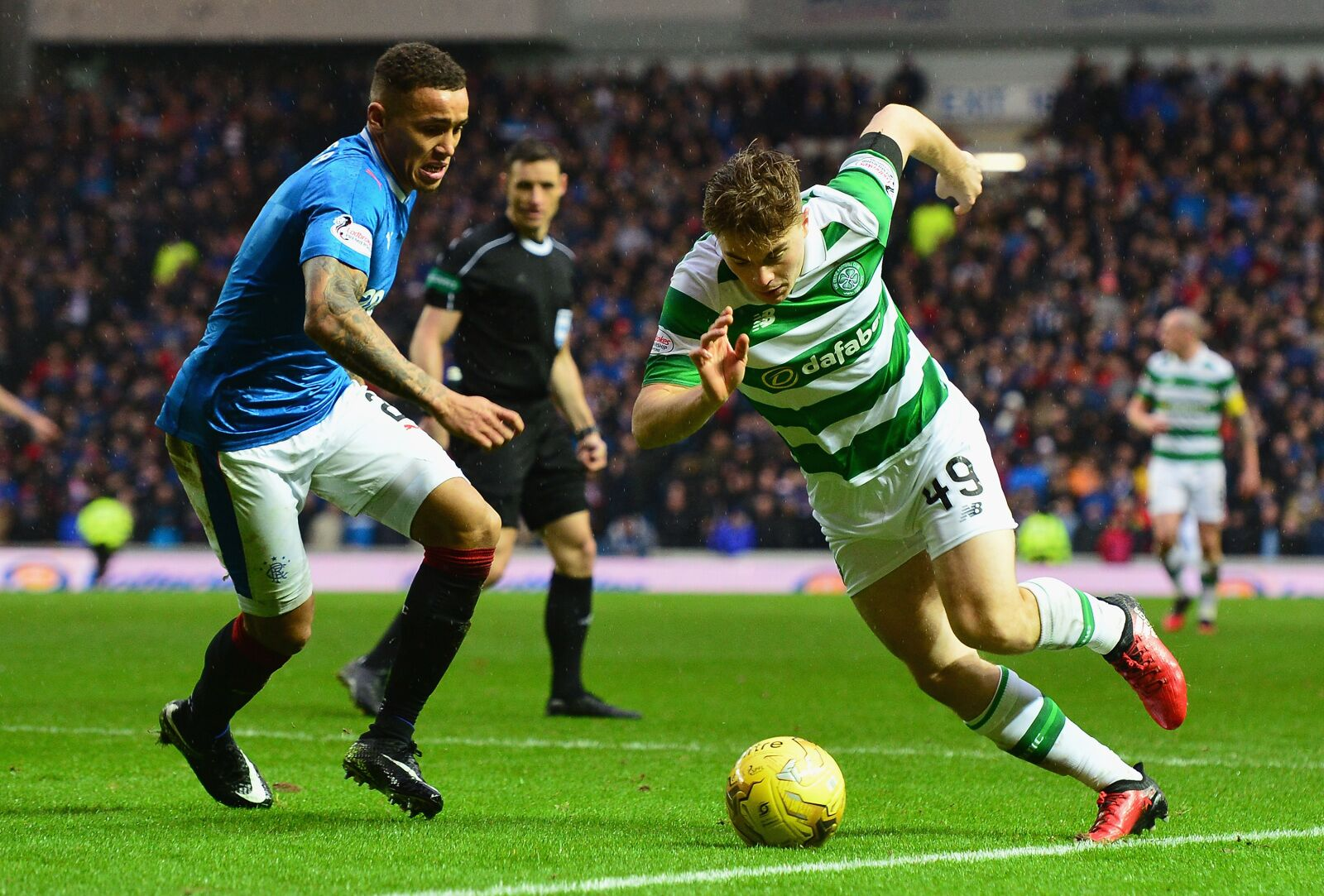James Forrest gives his verdict on Rangers' title chances