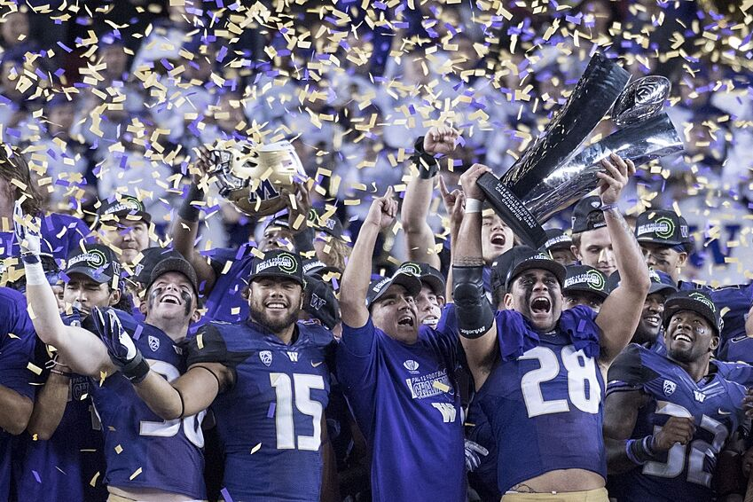 meet 88988 c0ae8 Washington Football: On the Pac-12 Title, the Playoffs, and ...