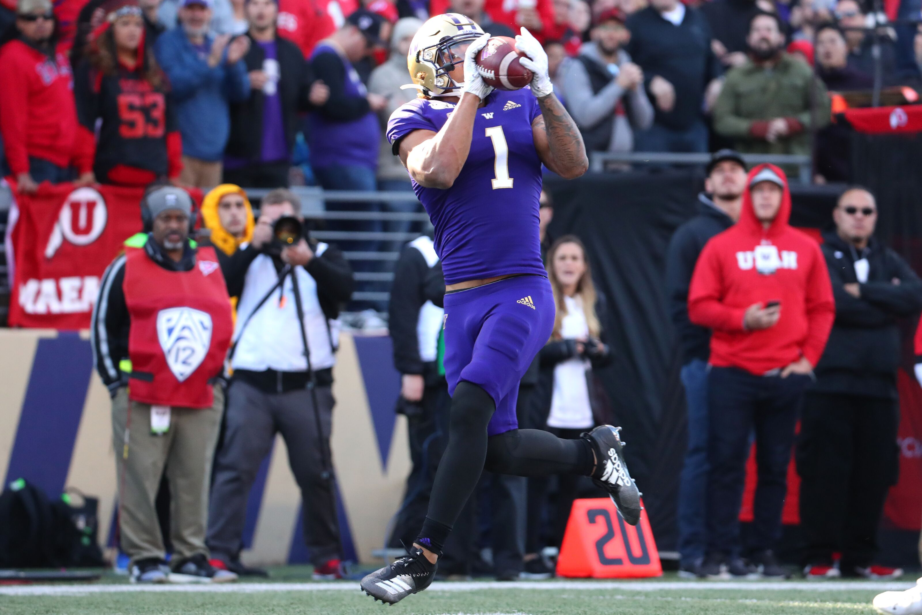 Where will Washington football's Hunter Bryant get drafted?