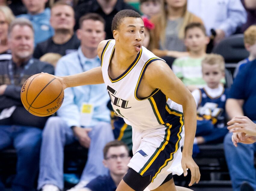 Utah Jazz Media Day: Dante Exum Looking to Play Bigger