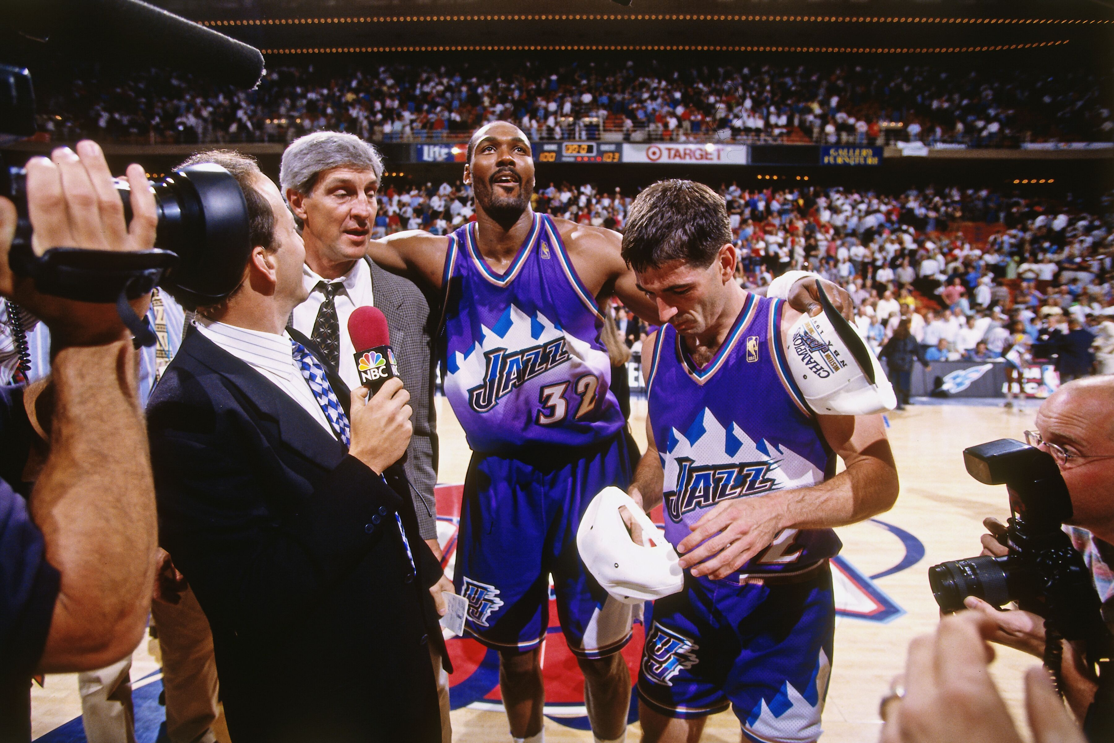 reputable site 192b9 c3e47 Utah Jazz: The purple mountain unis may be coming back (and ...