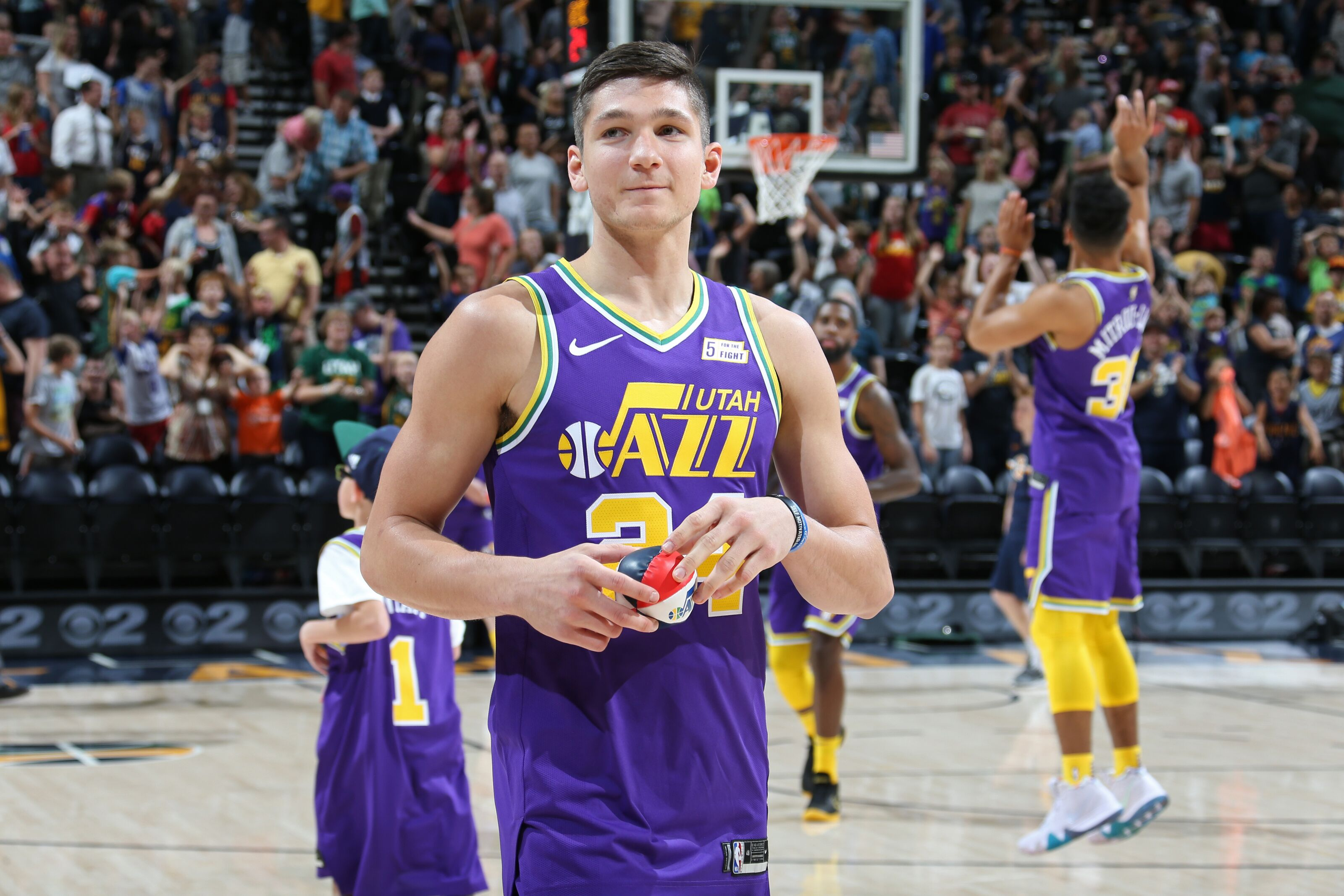 low priced d6677 12476 Utah Jazz rank 2018-19: Grayson Allen cracks top 10