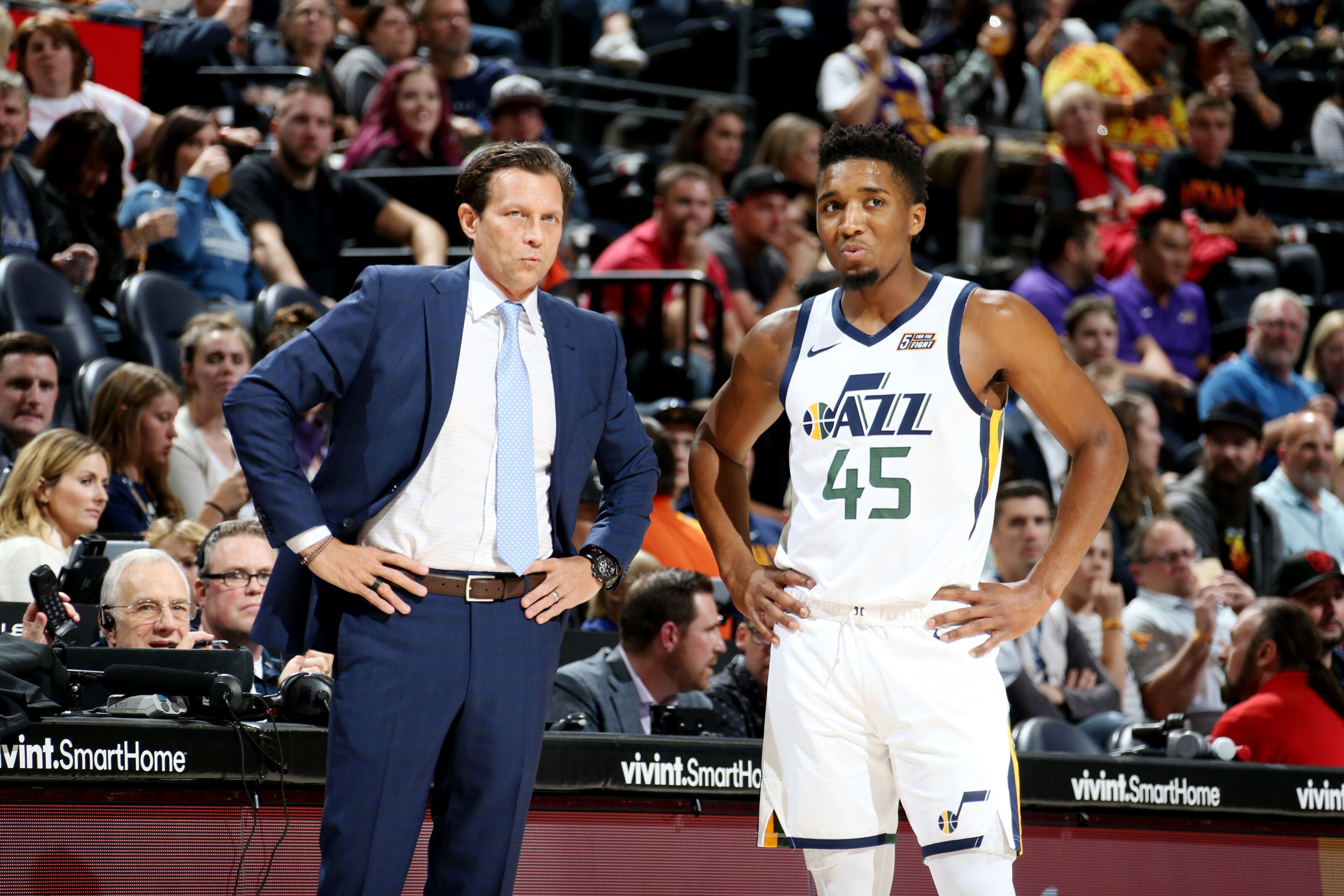 Utah Jazz: Donovan Mitchell comes alive vs Adelaide 36ers