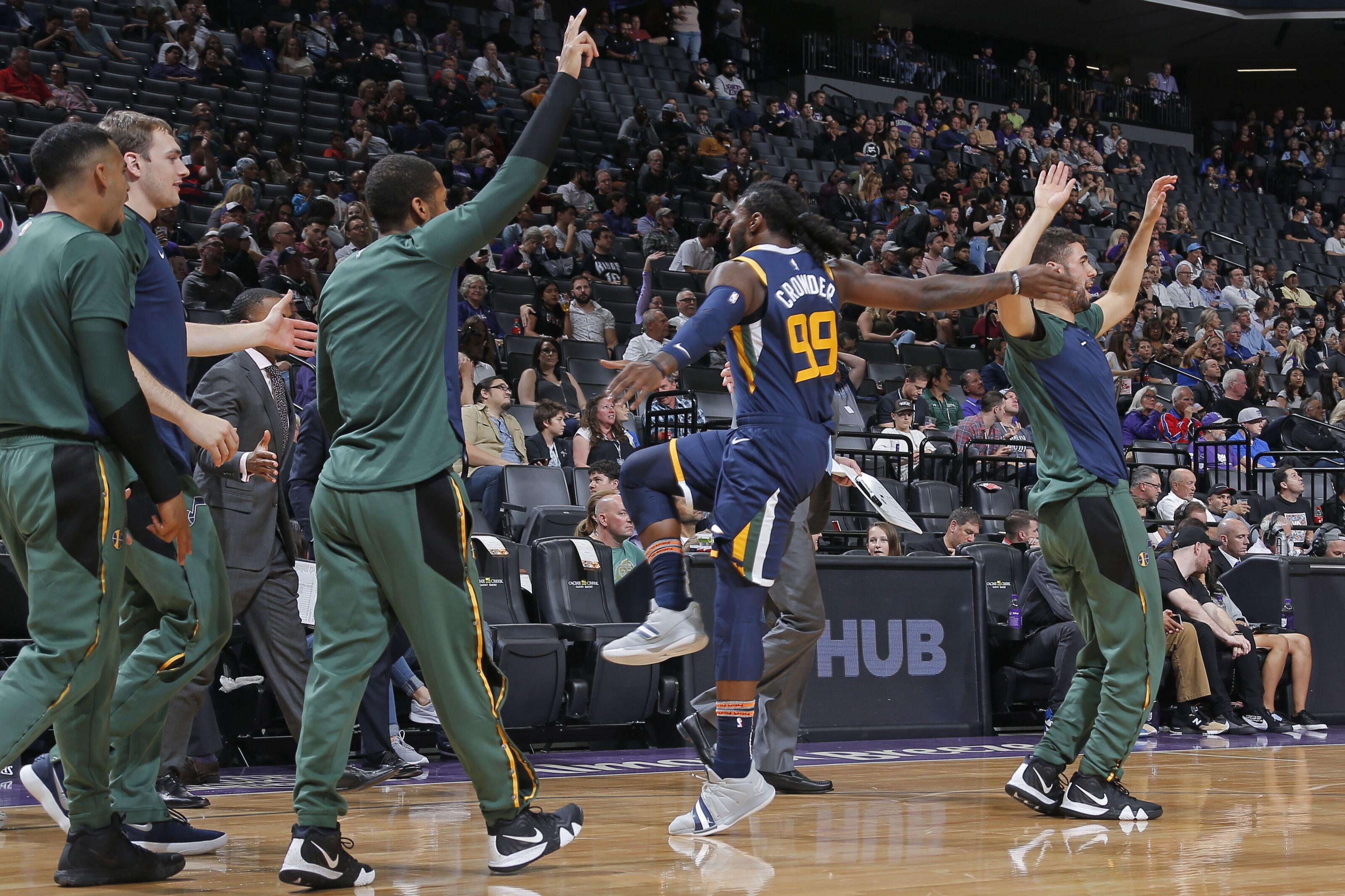 Utah Jazz  Gobert and Co. dethrone the Kings in preseason finale c604dec0e