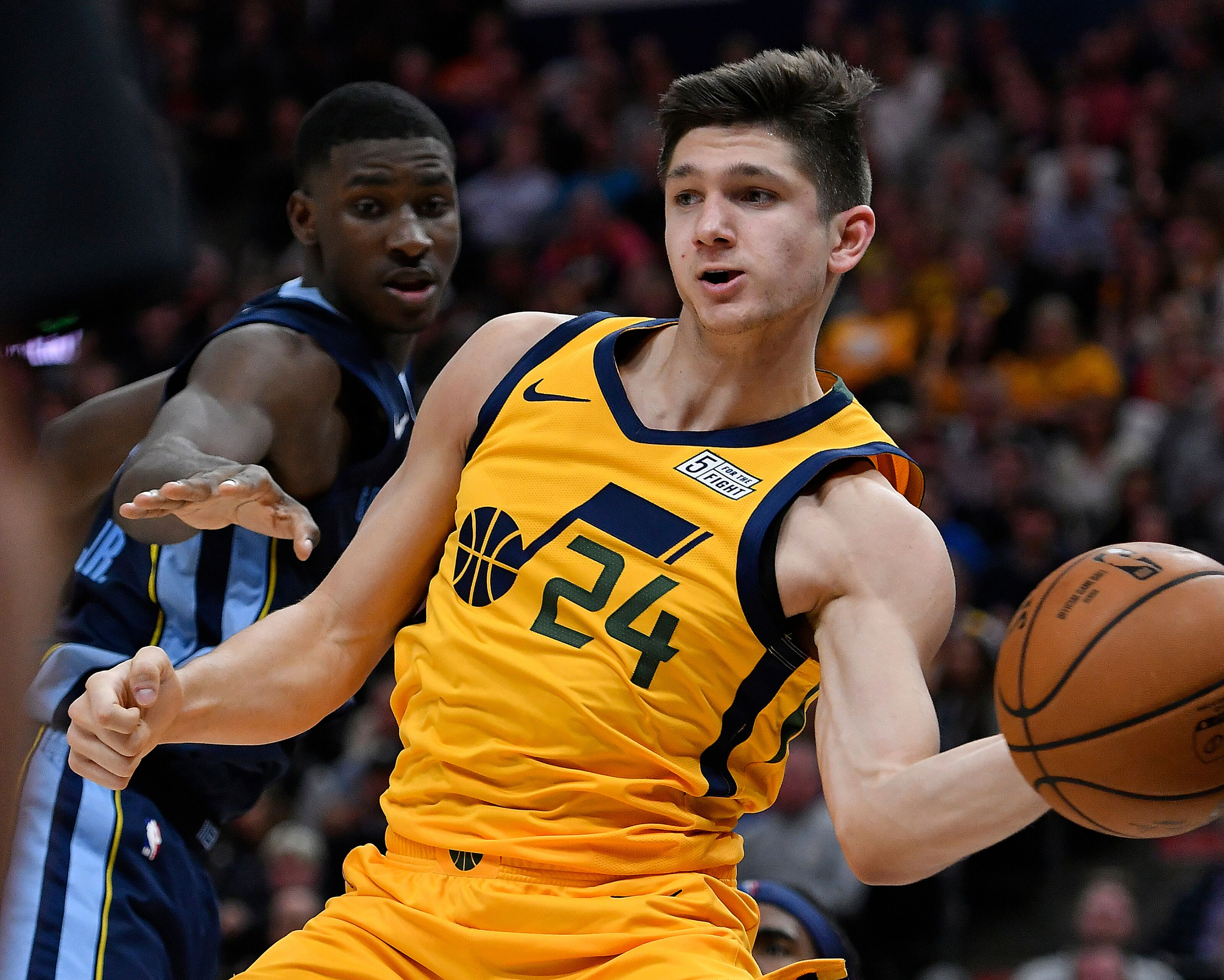 0f4d74a9a7b Grayson Allen shines in Utah Jazz debut, makes case for playing time