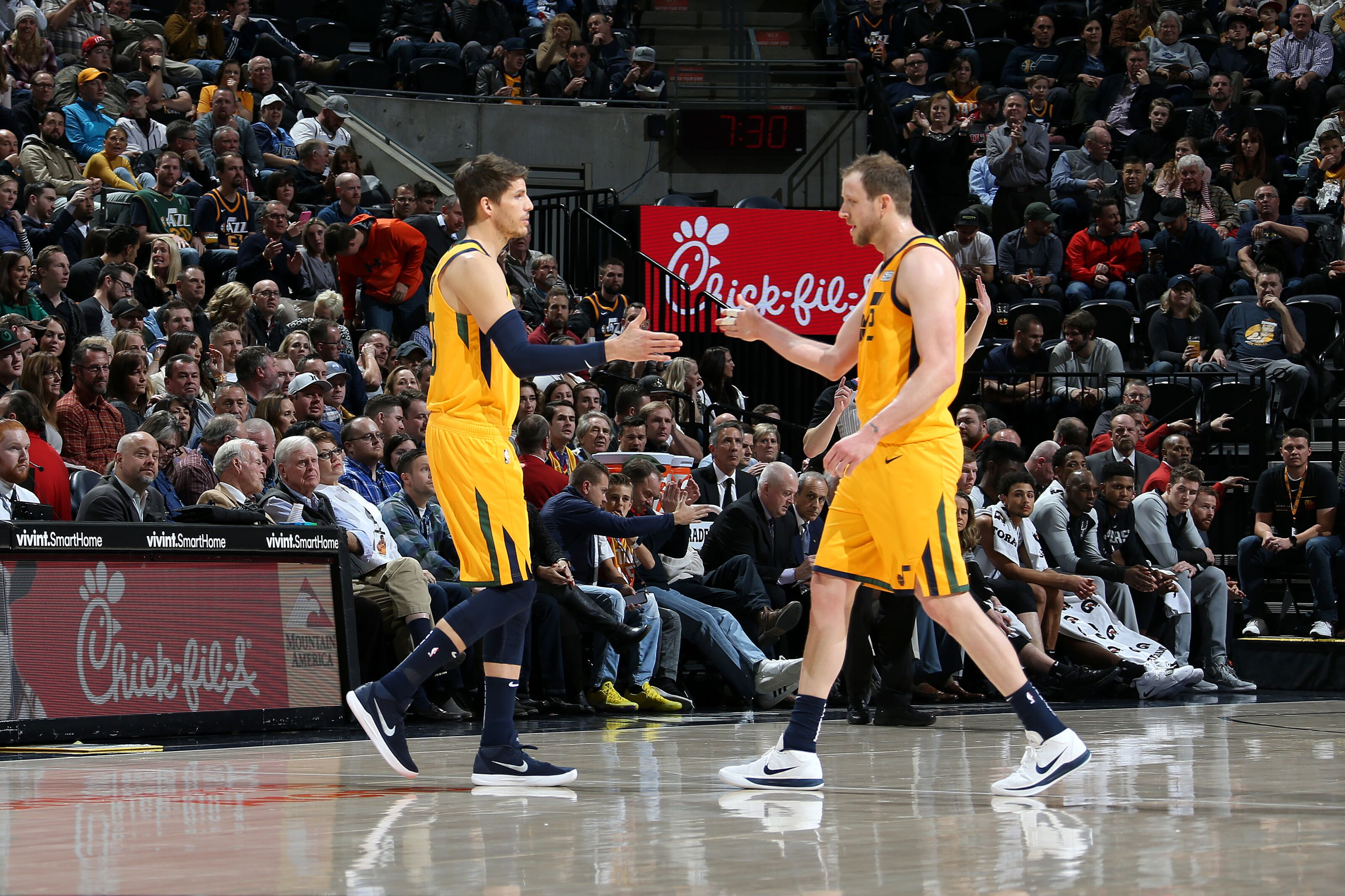 reputable site 34539 3bcf0 Utah Jazz: 'Splash Uncles' have been disappointing vs. Houston