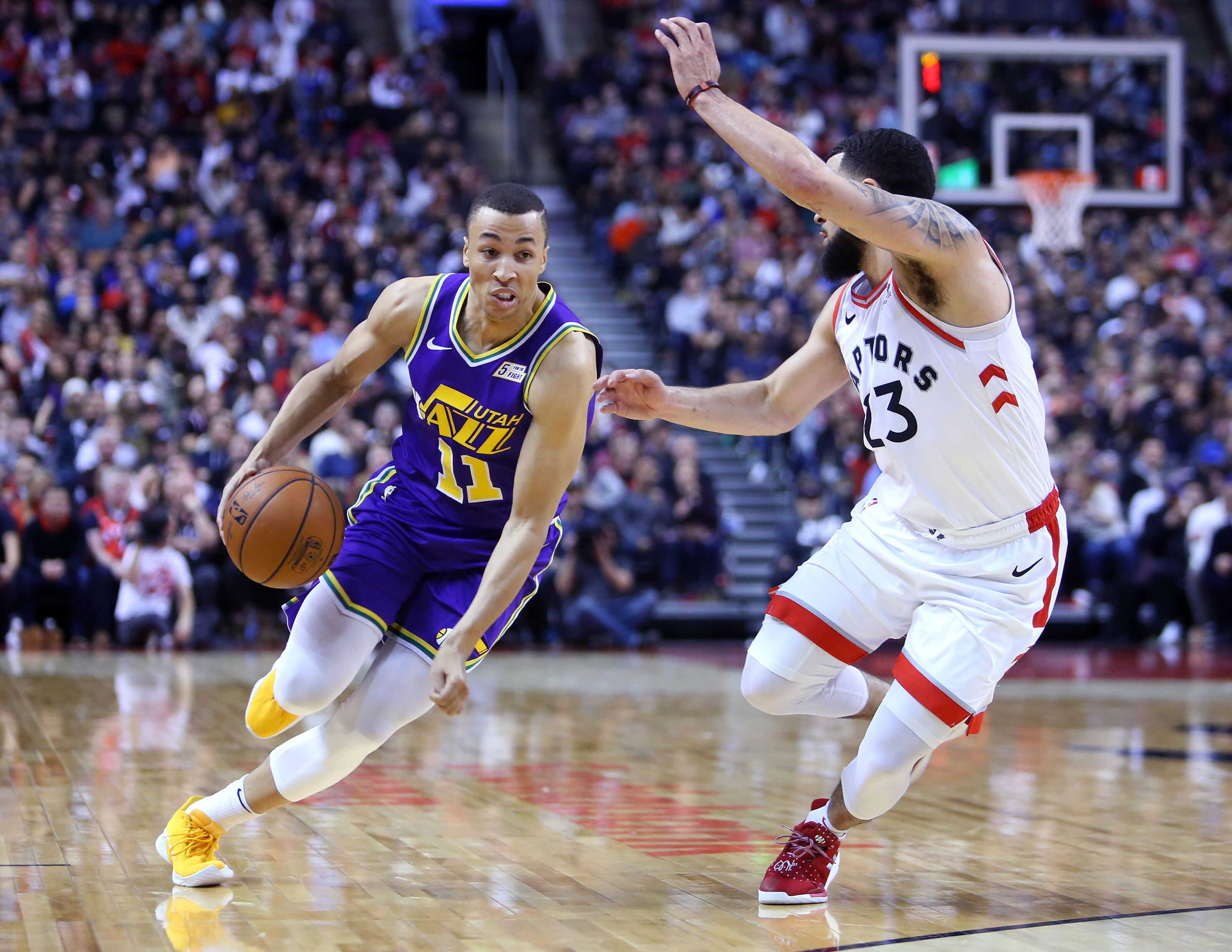 Utah Jazz You Ve Heard It Before But Just Maybe Exum Could