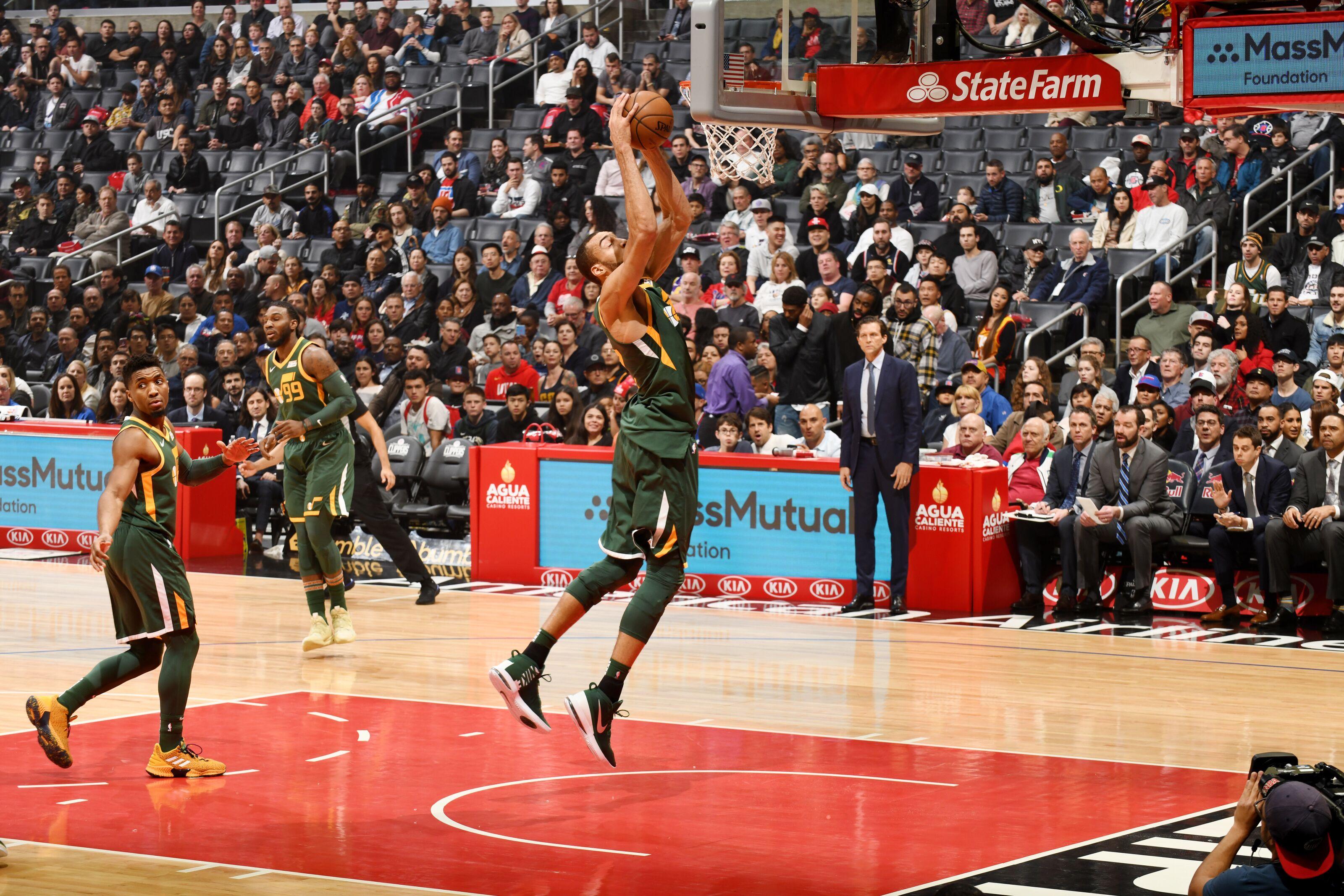 Utah Jazz: Rudy Gobert stifles LA Clippers in blowout win
