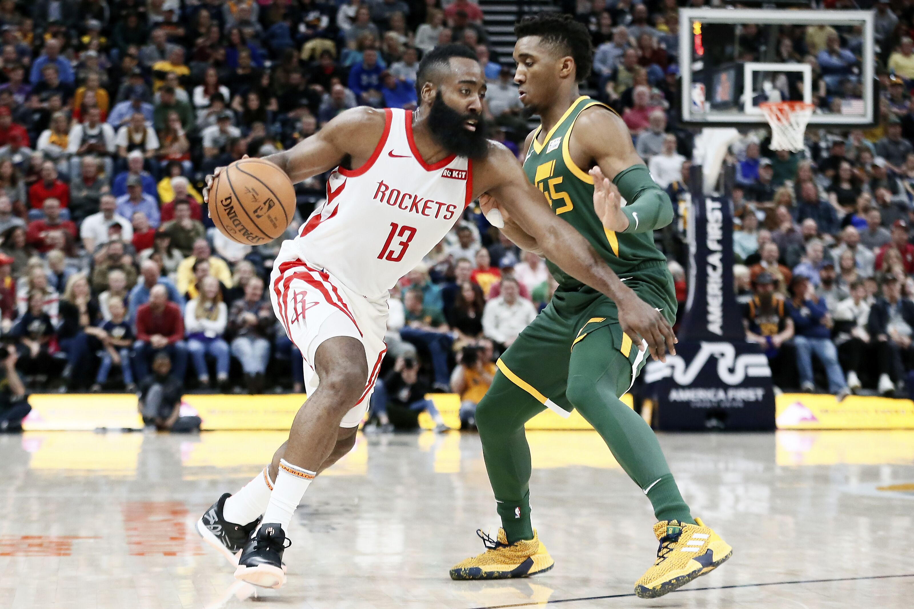 86a84e1444b Are the Utah Jazz on a first-round collision course with the Rockets?