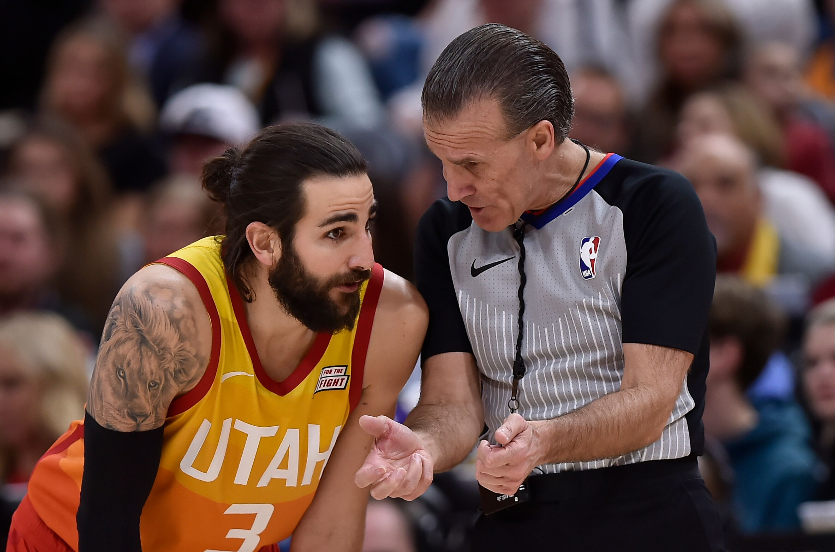 If the Utah Jazz go as Ricky Rubio goes, then they're in big trouble