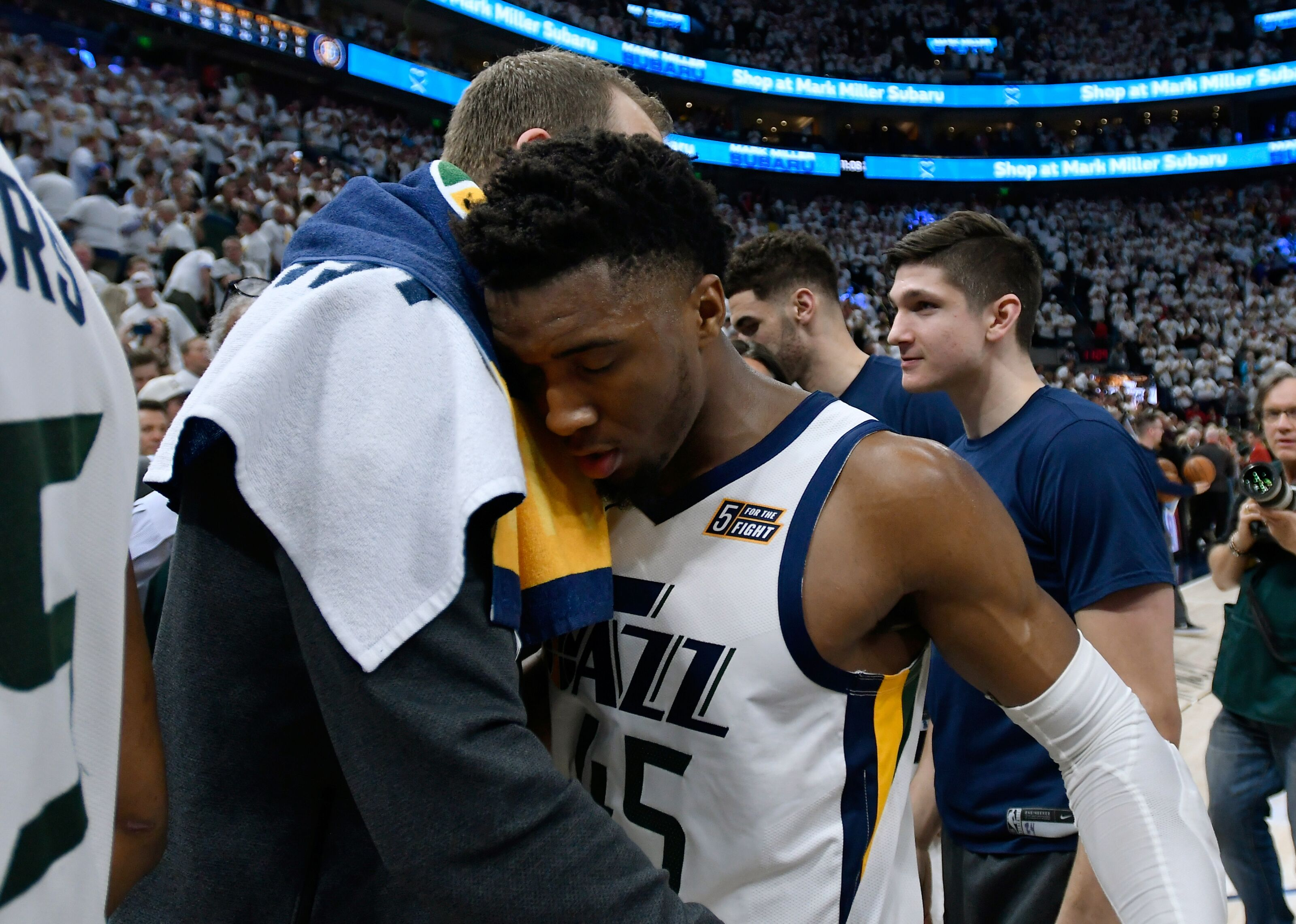 f68ddc2b8cd1 Utah Jazz  Top 8 most disappointing aspects of first-round loss to Houston