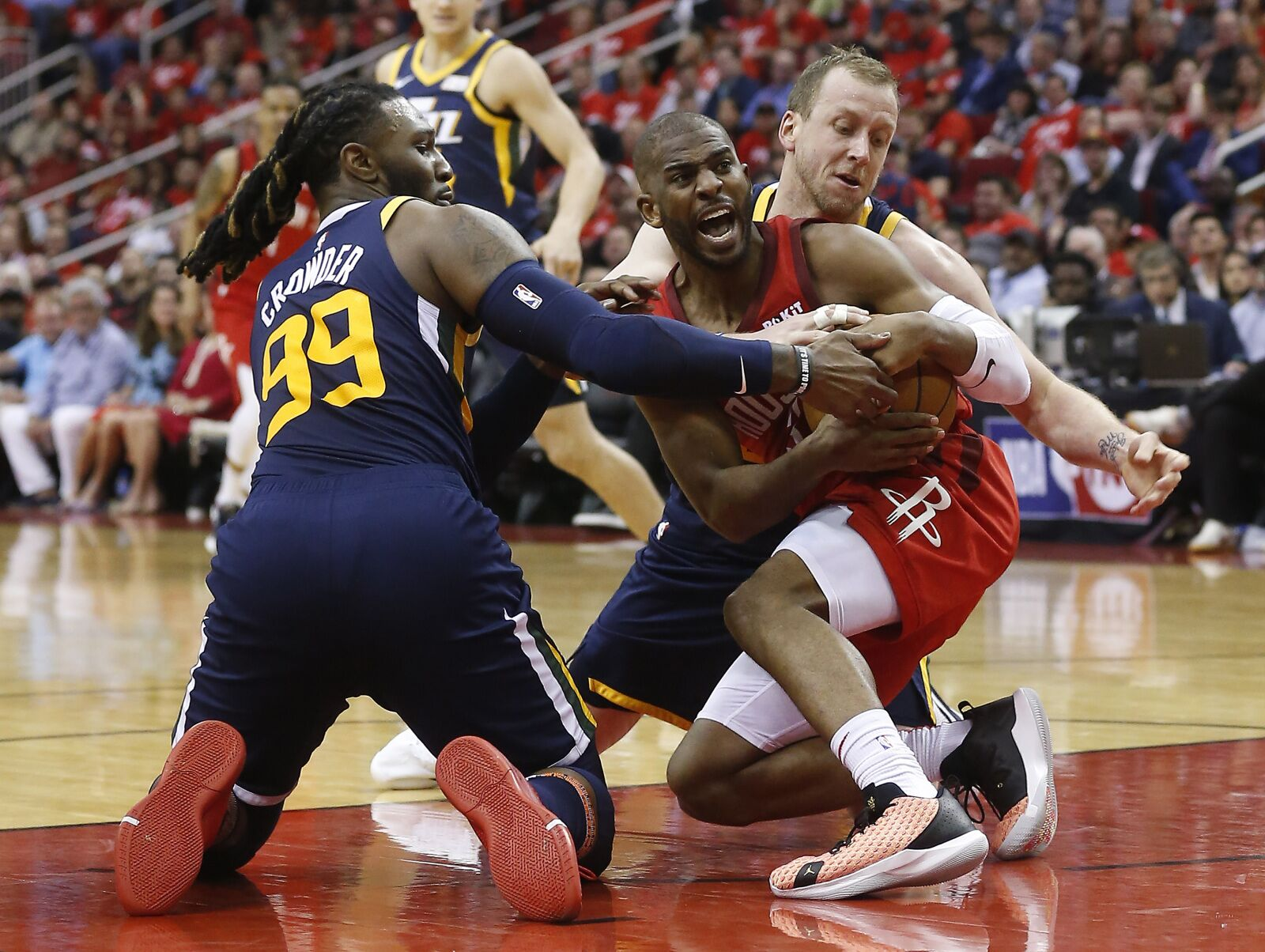 Utah Jazz aren't bad, but their playoff match-up sure is
