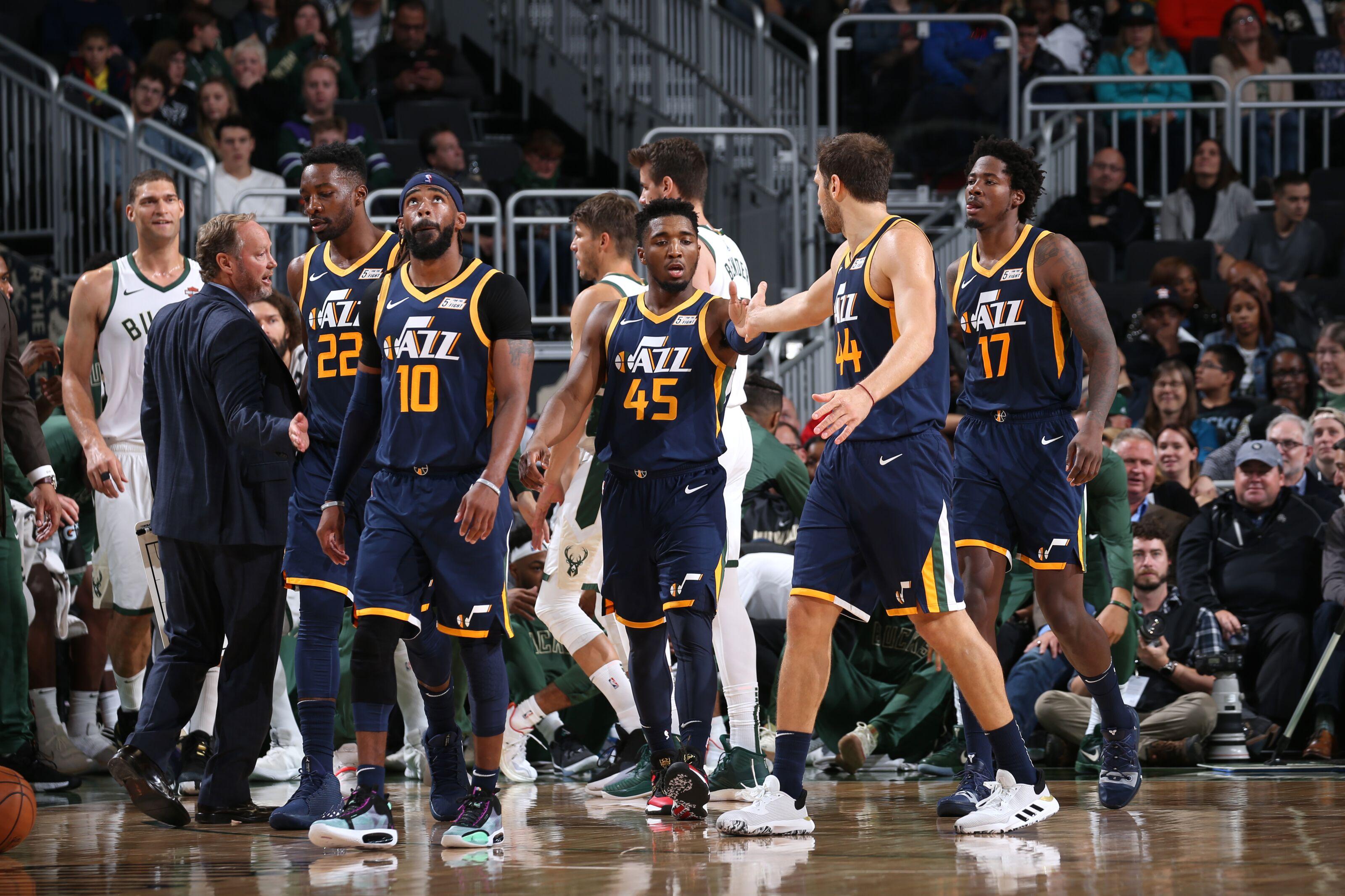Utah Jazz: Mitchell-Conley duo make inauspicious debut vs Bucks