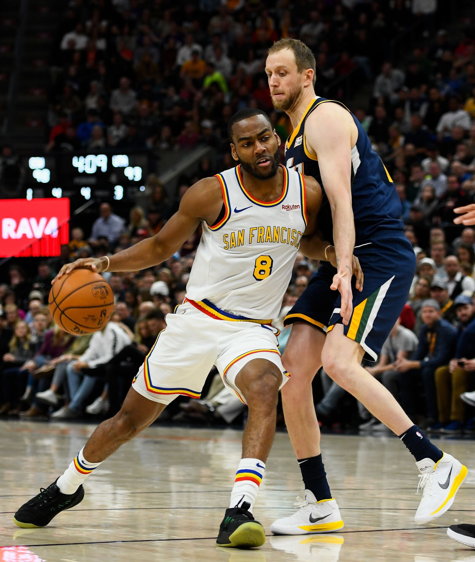 Game thread: Utah Jazz take on dismantled Warriors one last time
