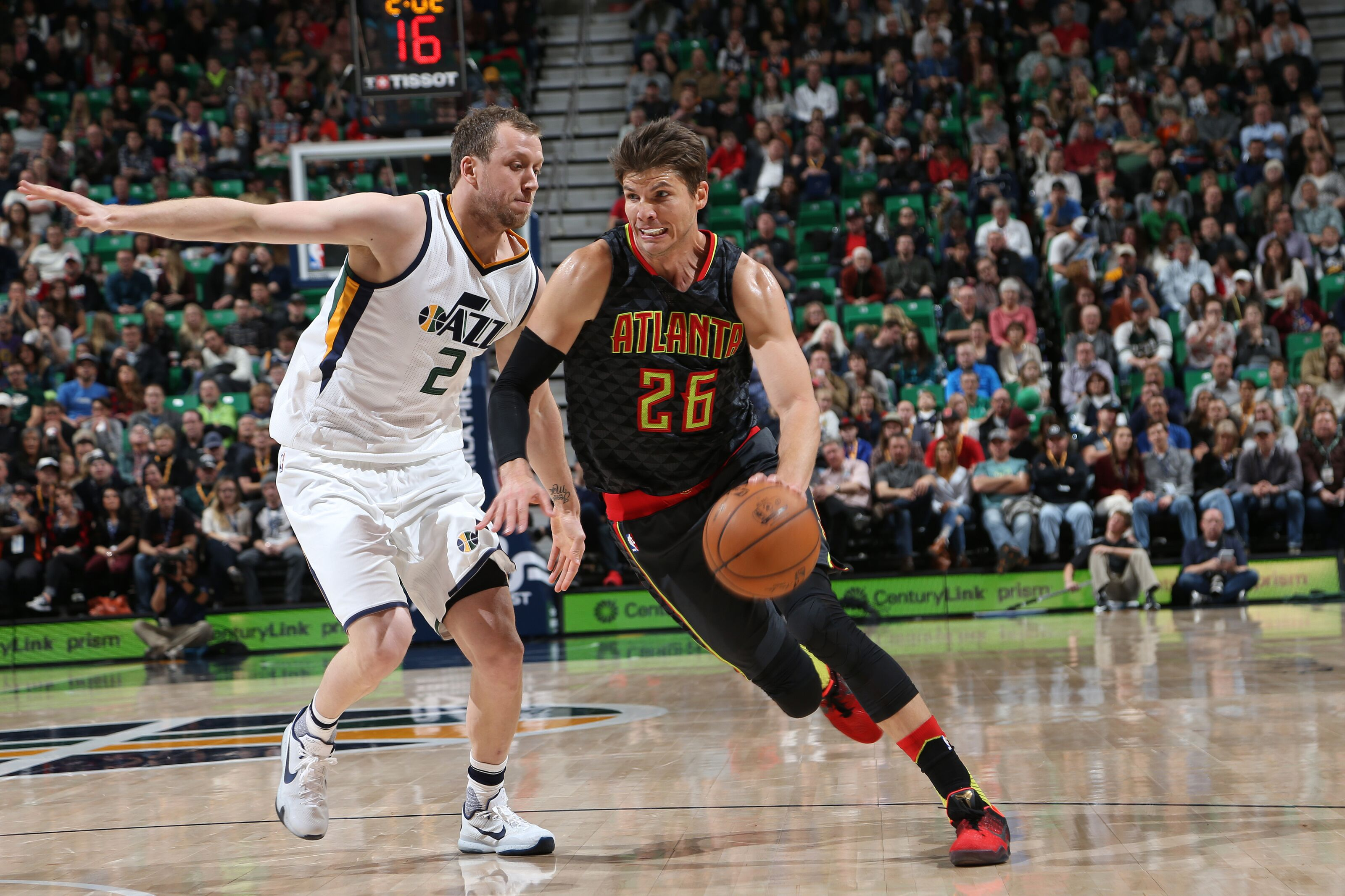 23597c18aacf Utah Jazz  Kyle Korver available to play vs Charlotte Hornets