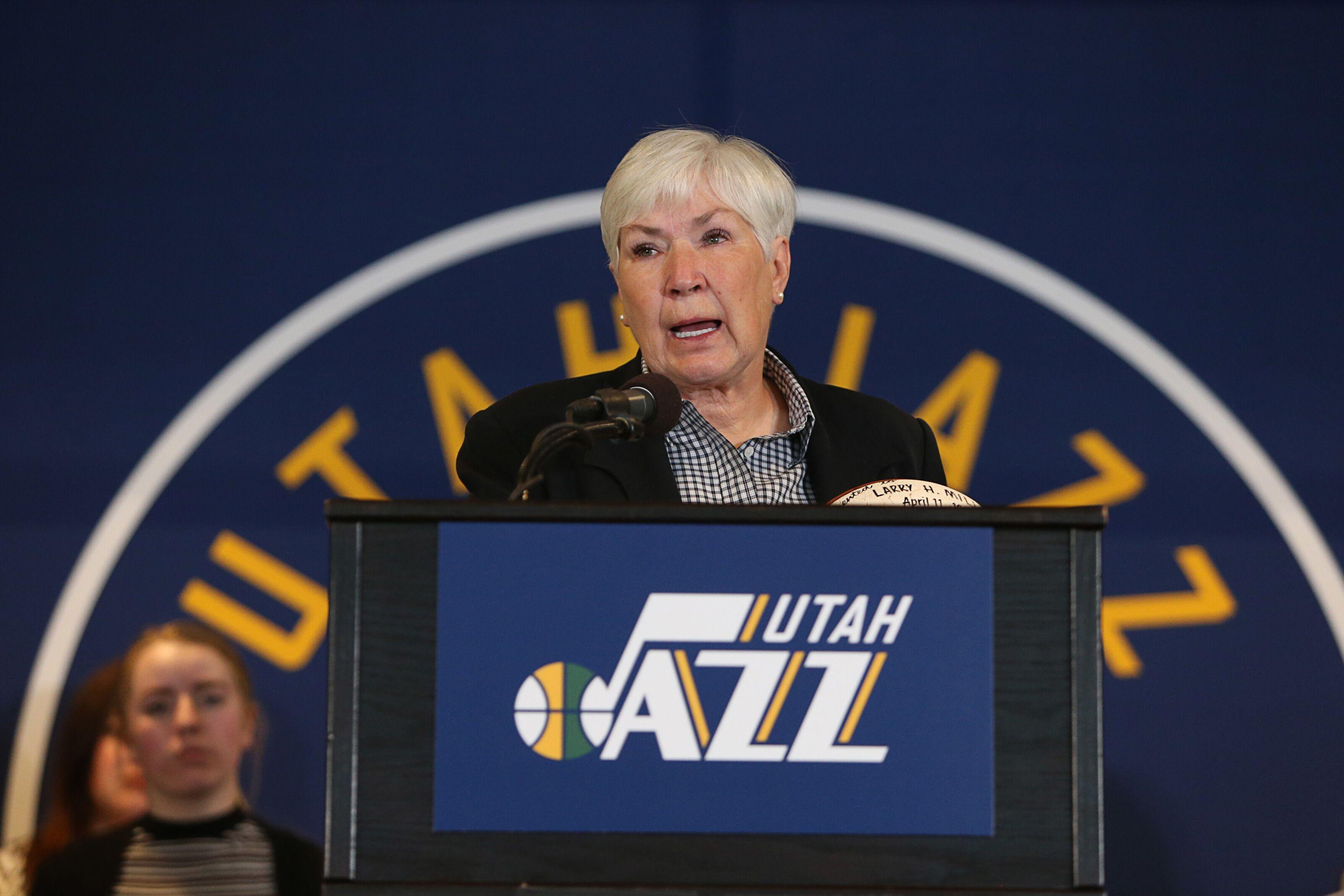 Utah Jazz owner Gail Miller has her sights set firmly on championship