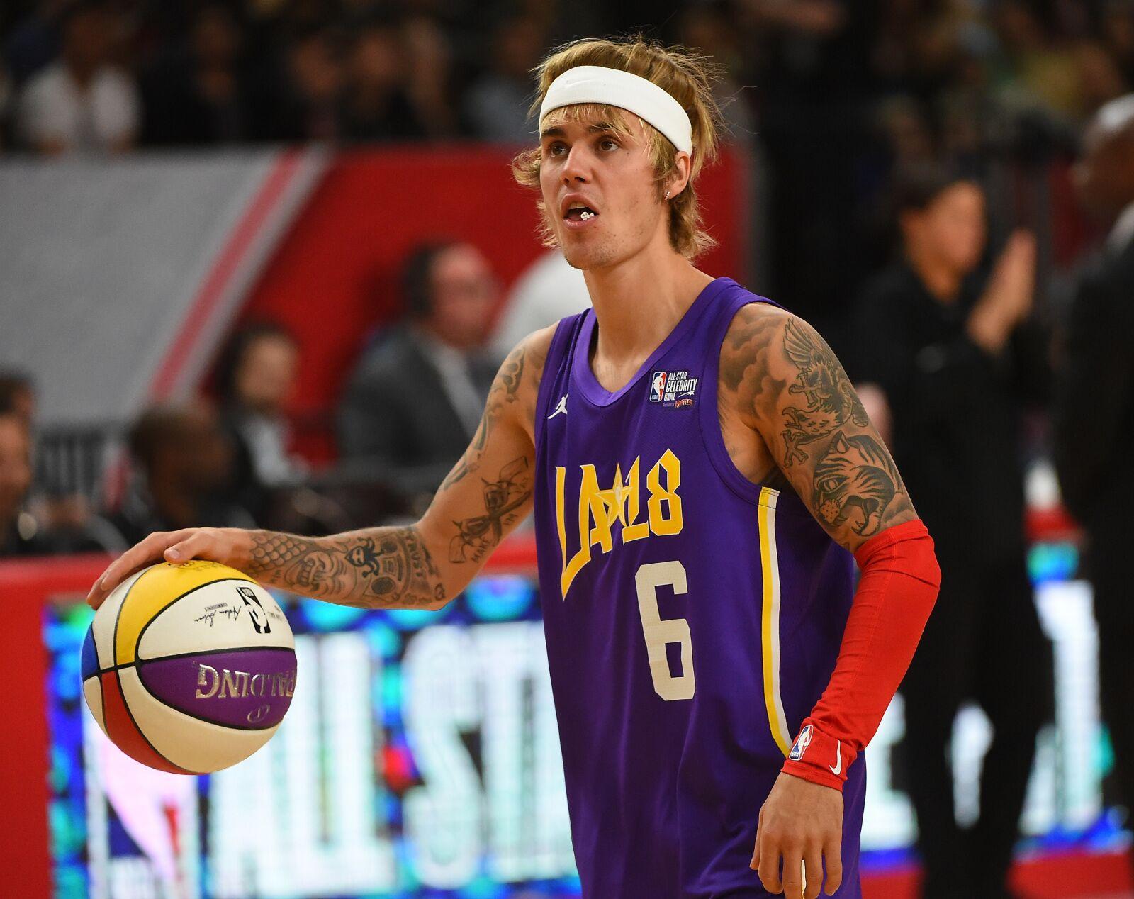 Utah Jazz: Justin Bieber spotted wearing Donovan Mitchell 'Spida' shirt