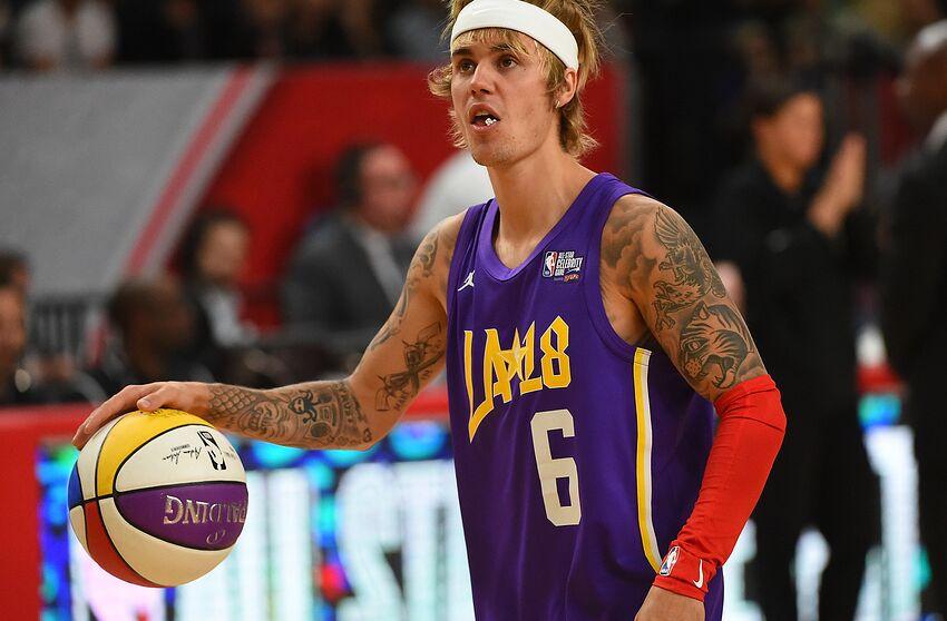 meet f0c68 19dc7 Utah Jazz: Justin Bieber spotted wearing Donovan Mitchell ...
