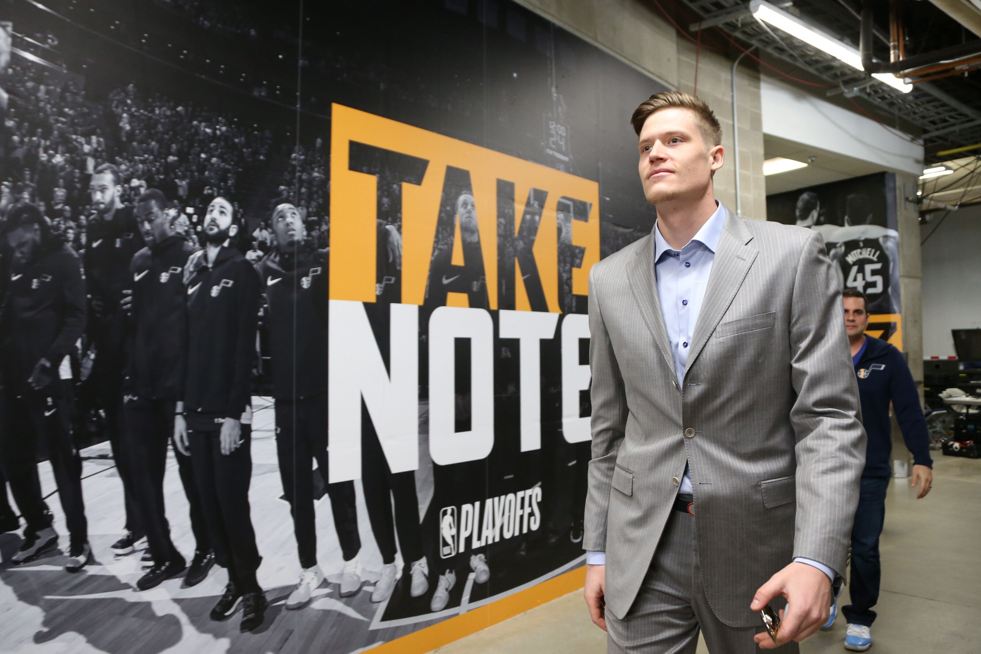 fda281c01 Utah Jazz  Jonas Jerebko freed up to pursue ring with Warriors