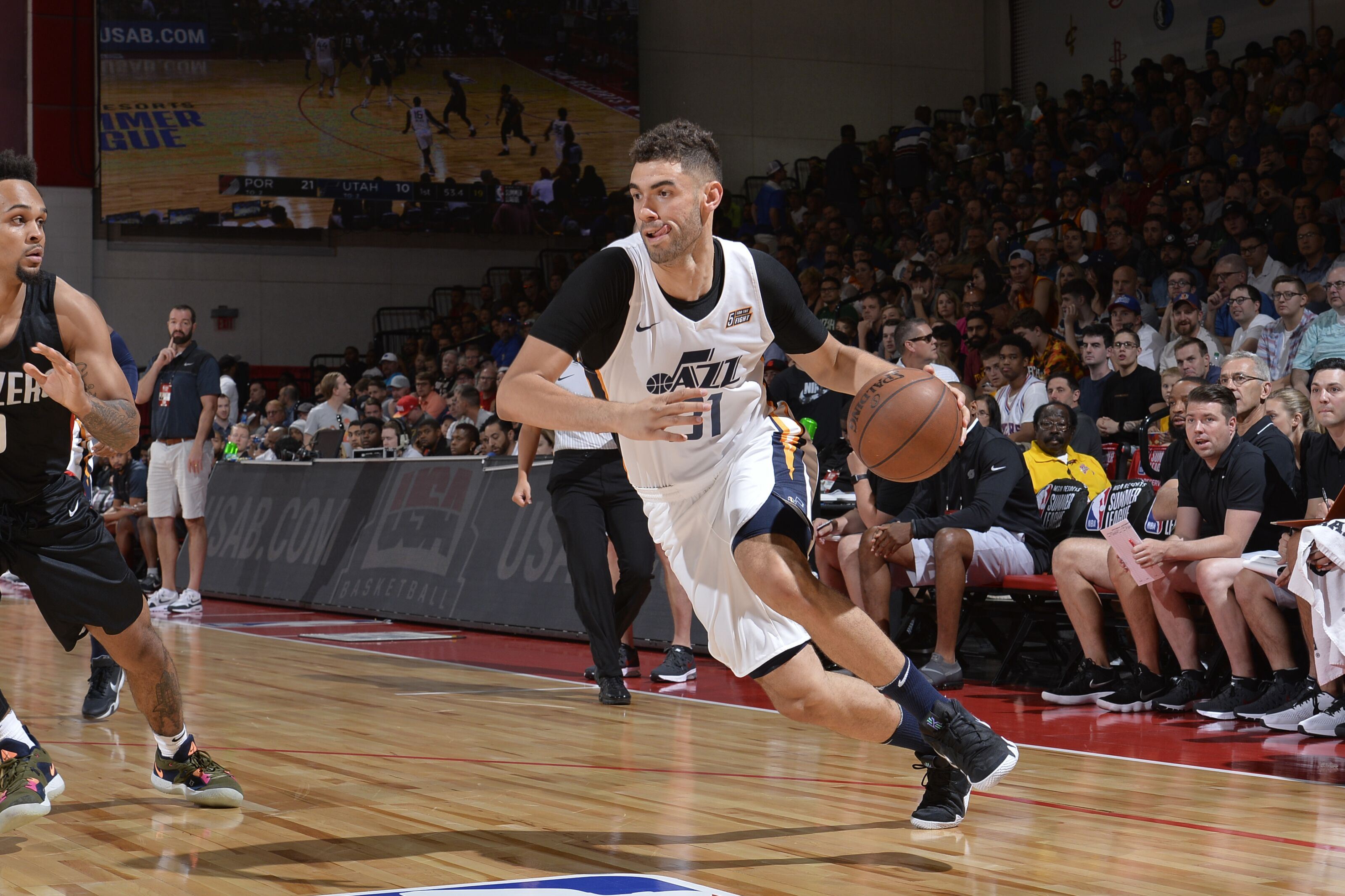 fb9e71b02 Utah Jazz  Georges Niang deserves an NBA roster spot