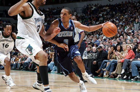 Utah Jazz Howard Eisley
