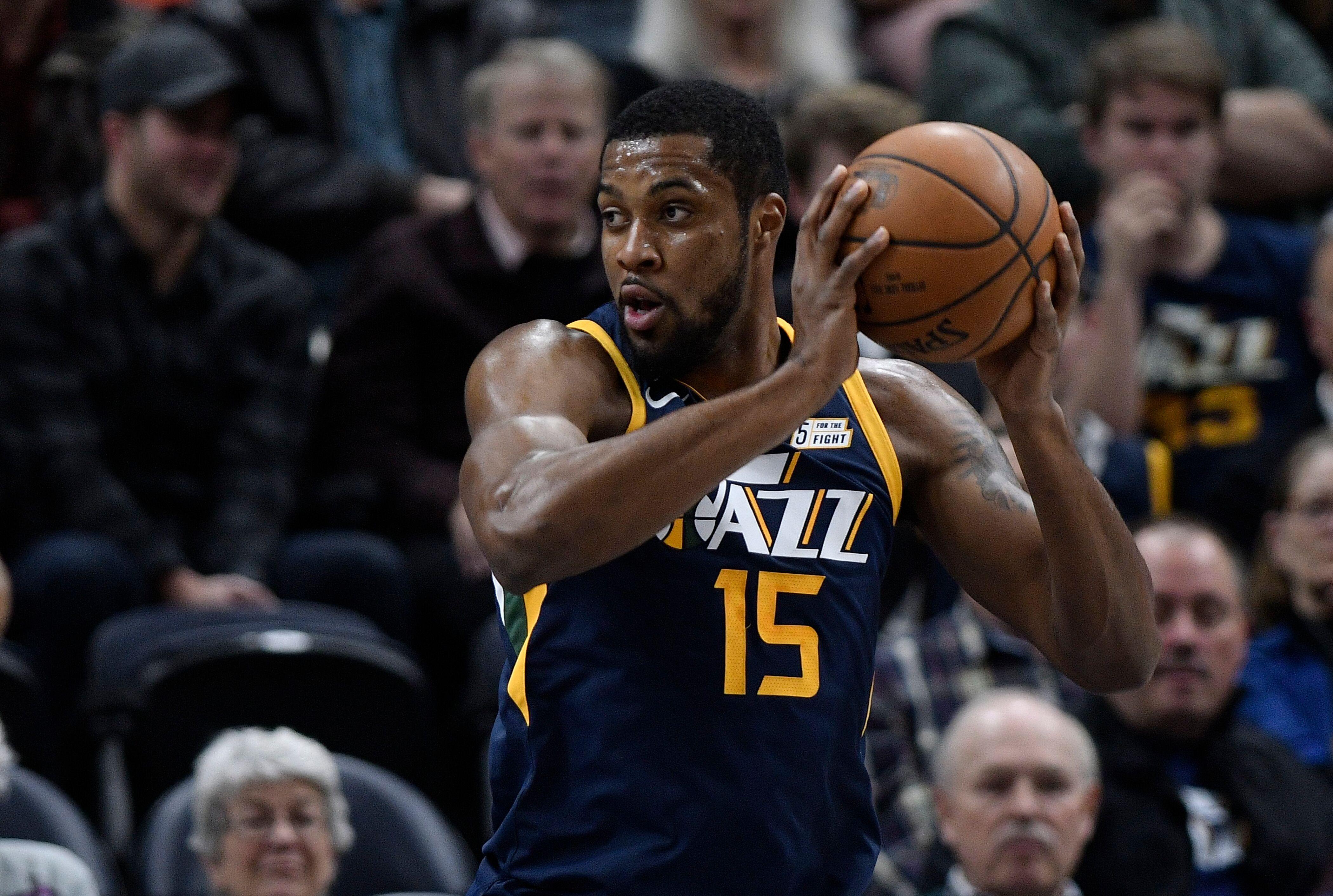 2ead6083c Utah Jazz  Derrick Favors can reach historic milestone next season