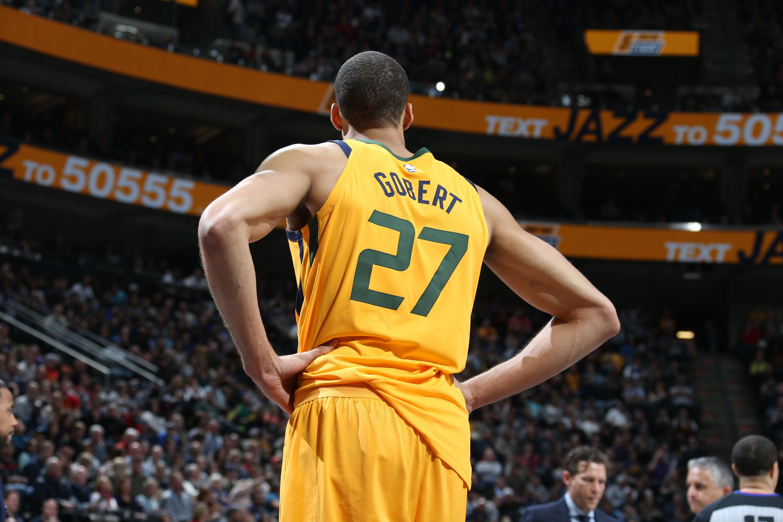 5c71da693 Utah Jazz  Rudy Gobert as good as ever