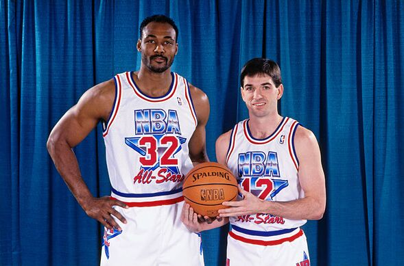 785c9bdff76 1) Jazz host the All-Star Game, Malone & Stockton Co-MVPs; February 21, 1993