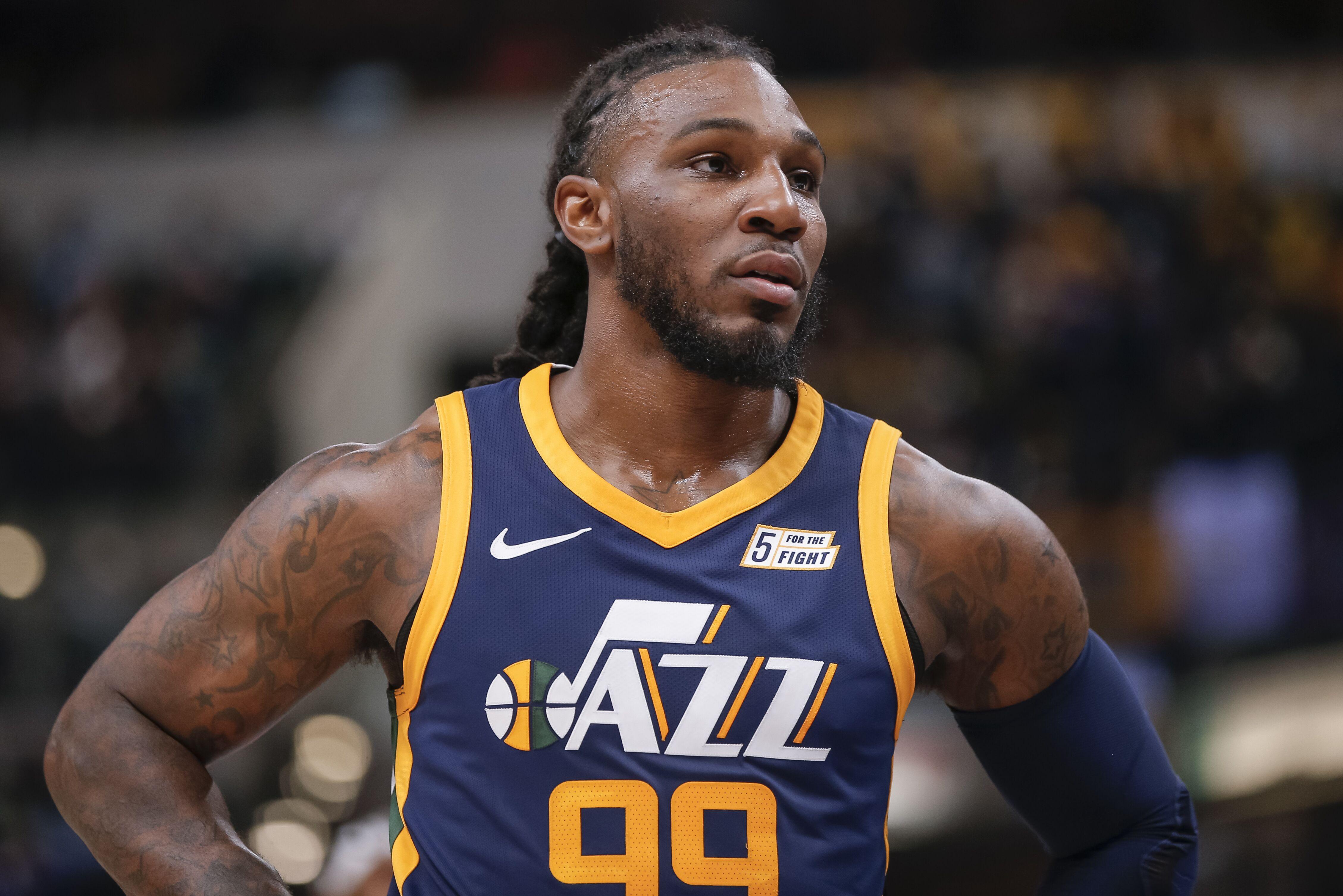 cheaper 3d780 ffa56 Utah Jazz: Jae Crowder making it easy to not miss Rodney Hood