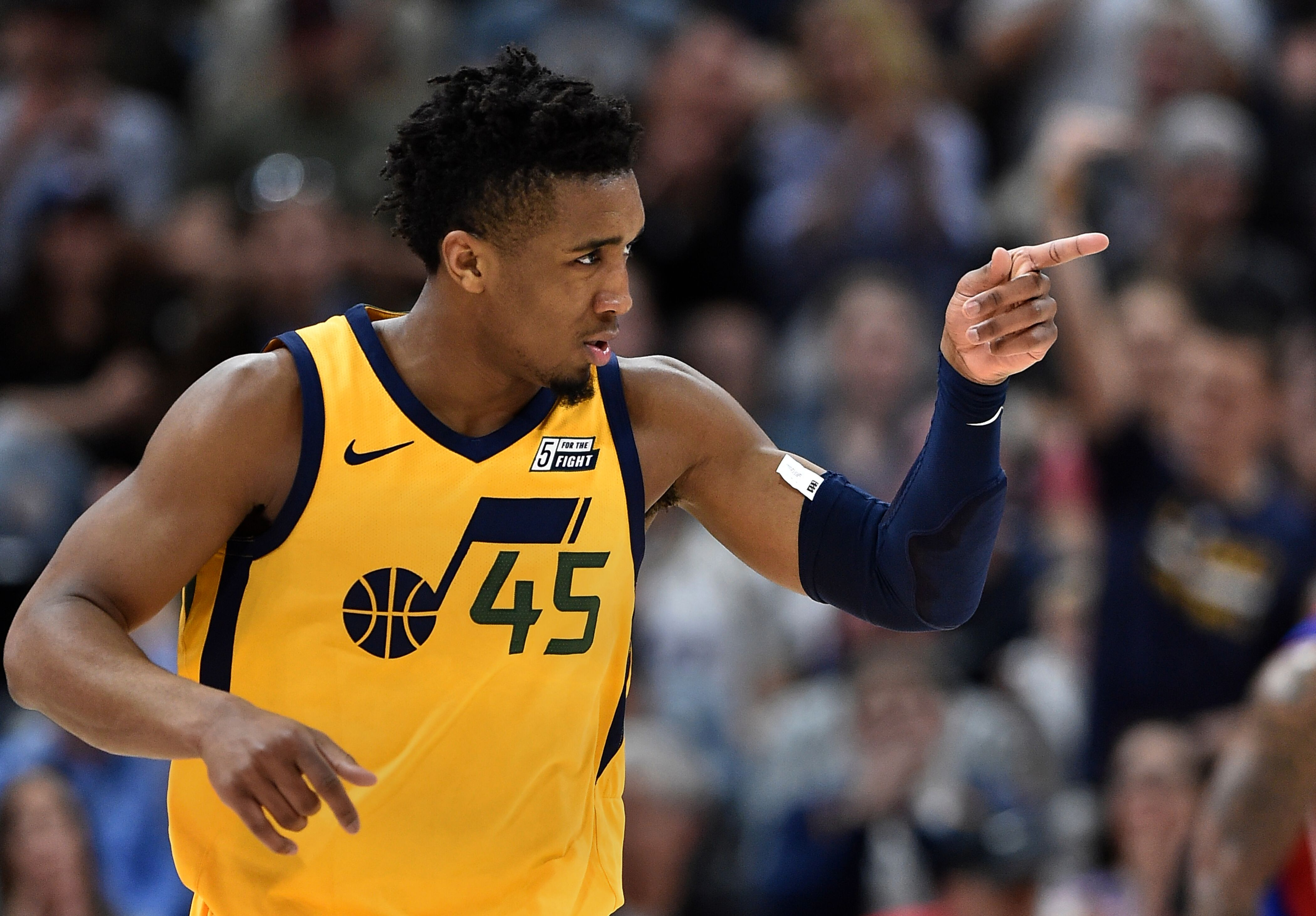1e671affe Utah Jazz  Pundits still grossly misinformed on Donovan Mitchell