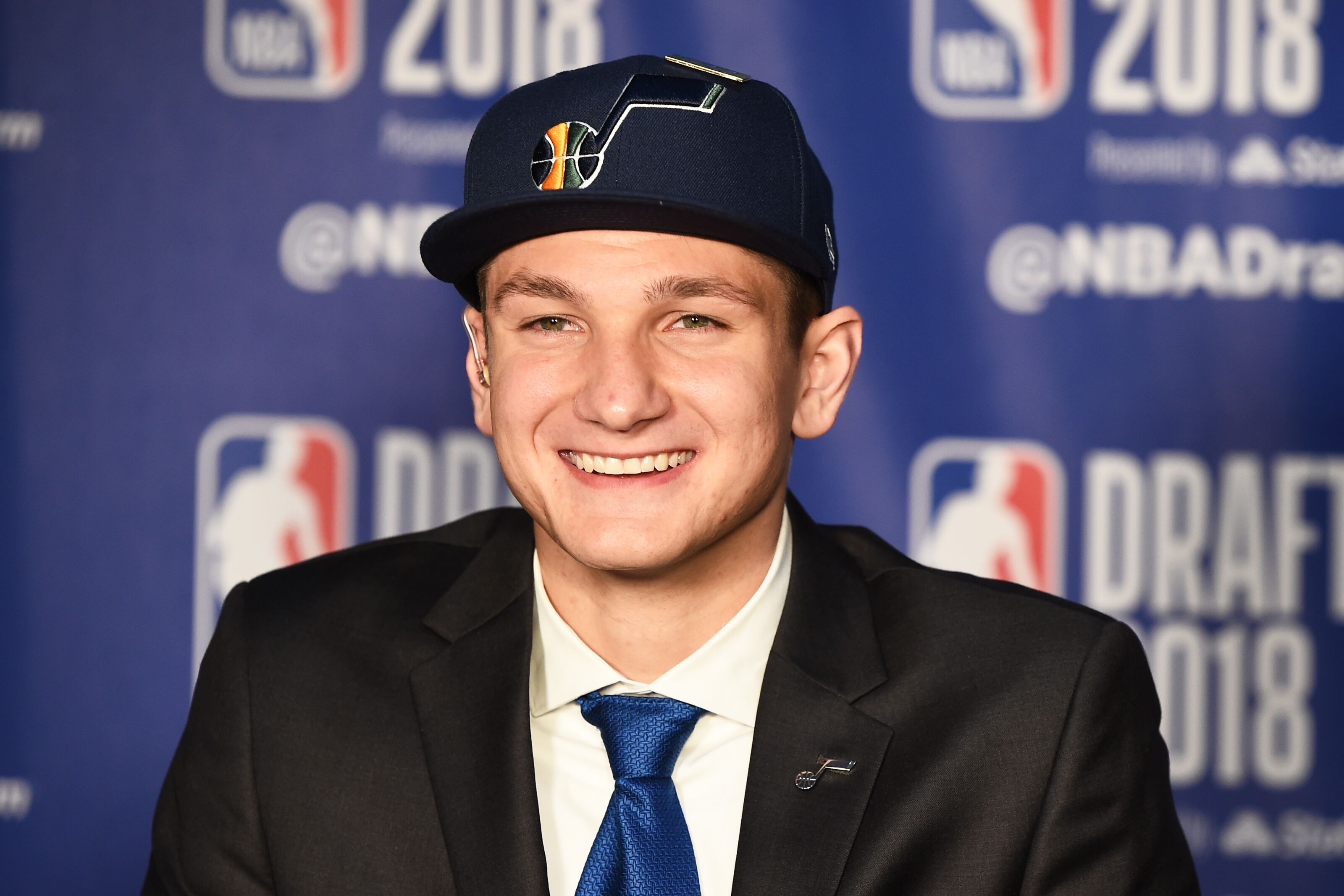 6f3ec9ebfc1 Utah Jazz set to introduce rookie Grayson Allen today
