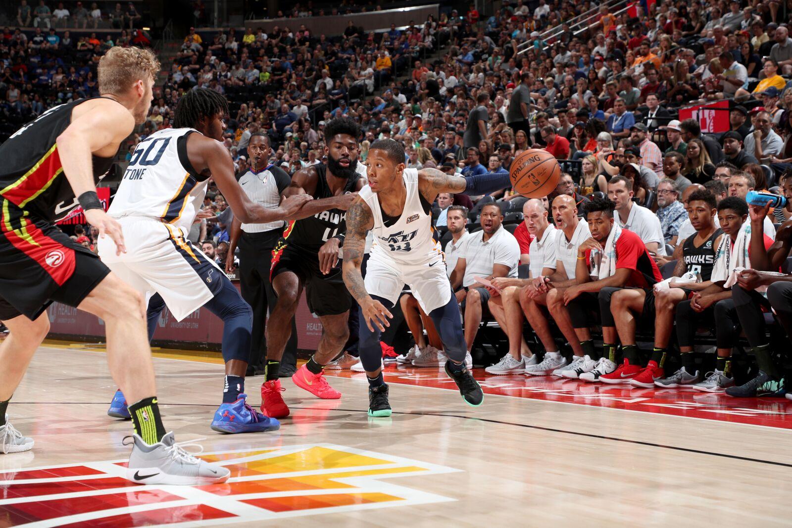 e558da057 Utah Jazz anounce signing of former UMBC star Jairus Lyles