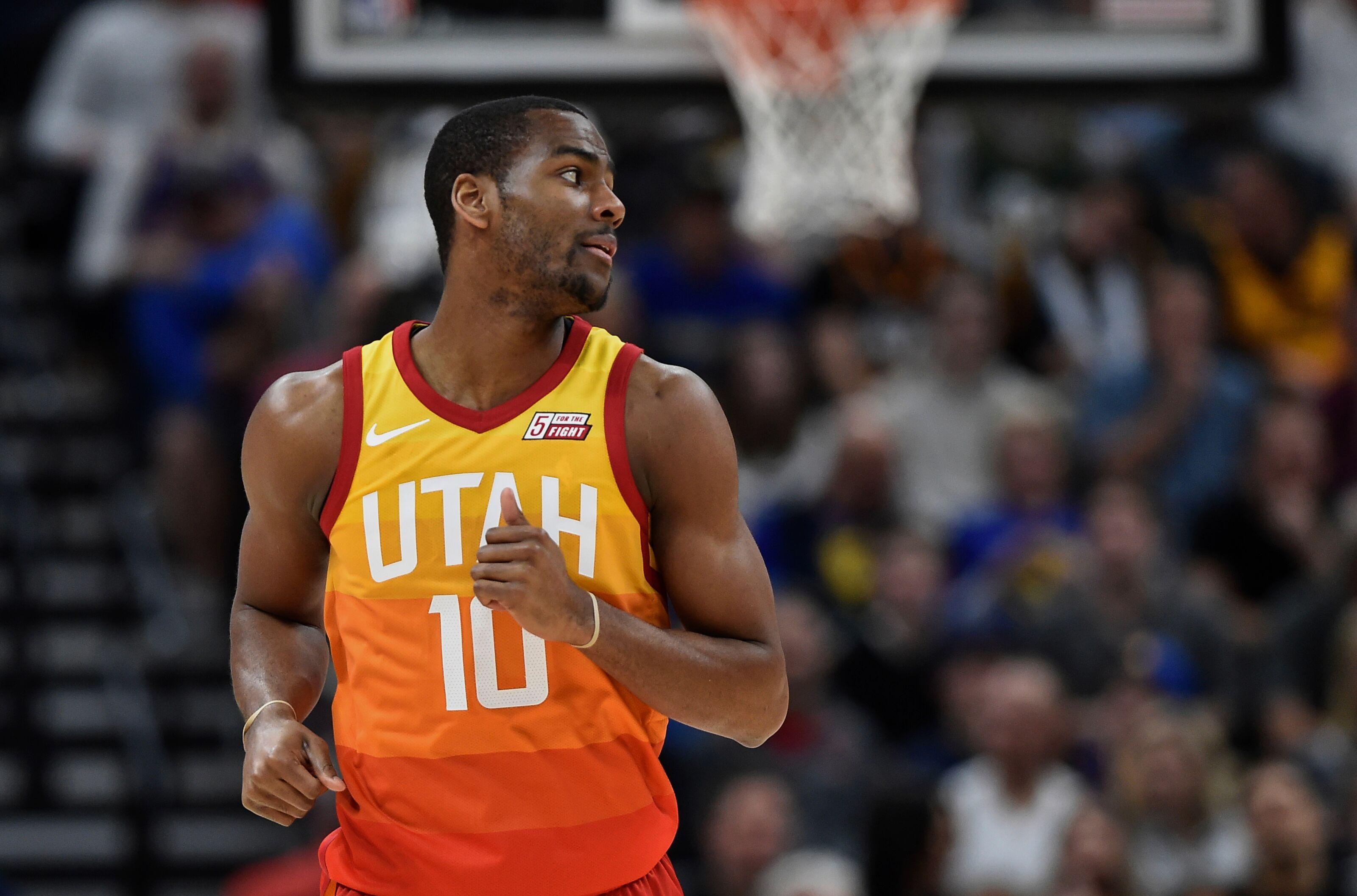 3ade89e9ef6 Utah Jazz: Depth is likely to leave a few players out in the cold