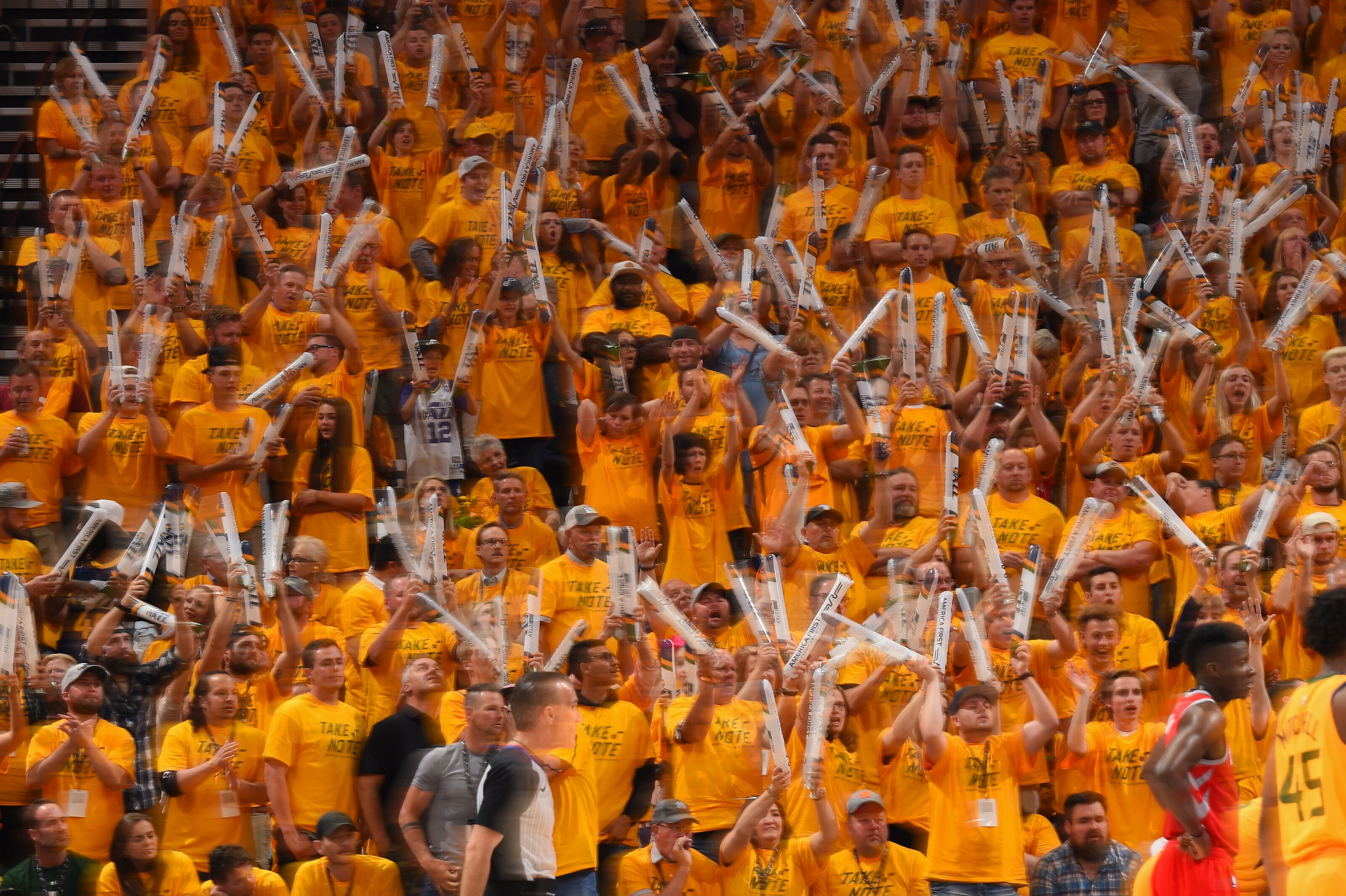 Utah Jazz home games haven't felt like home games