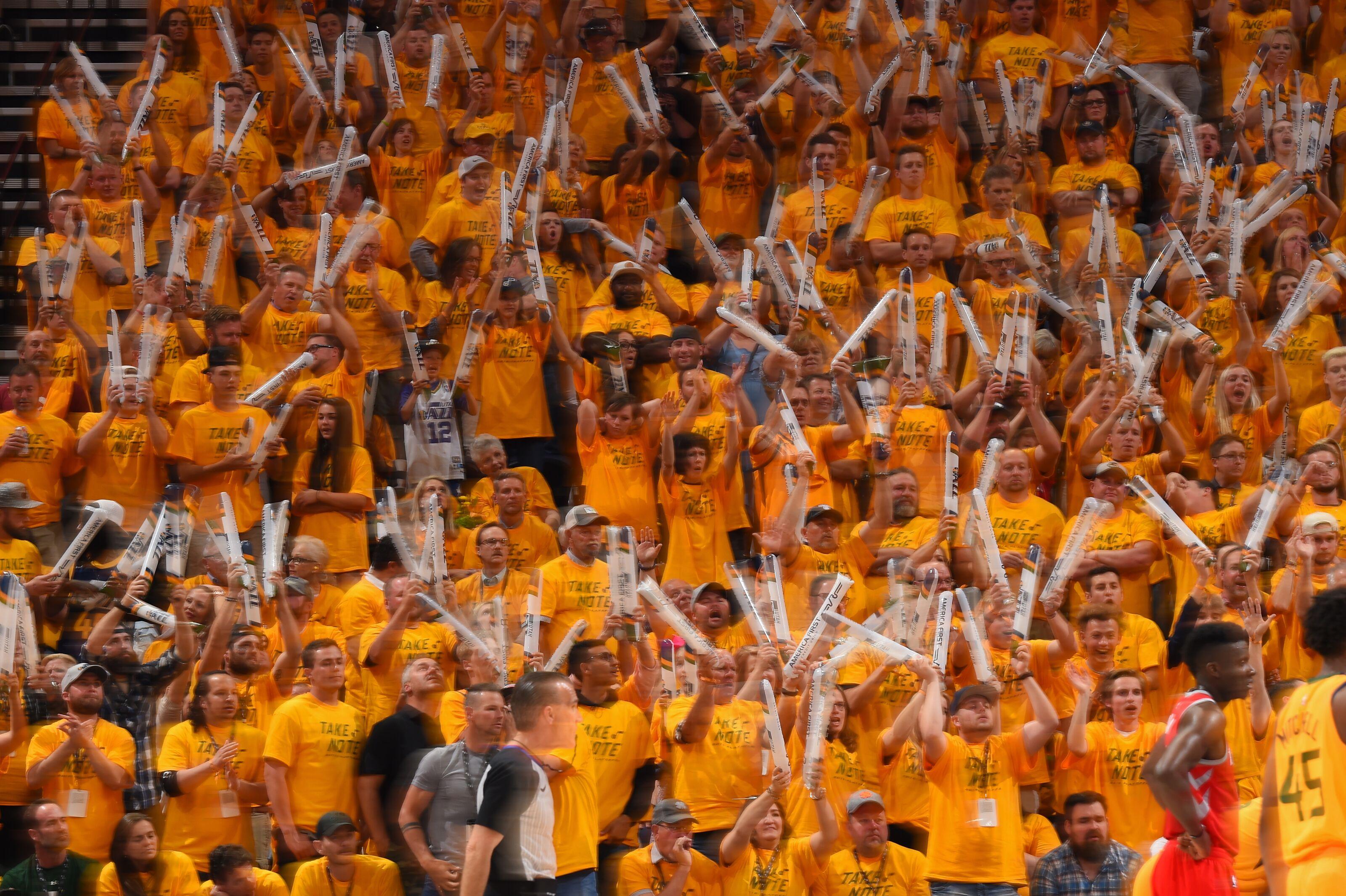 Utah Jazz home games haven't felt like home games