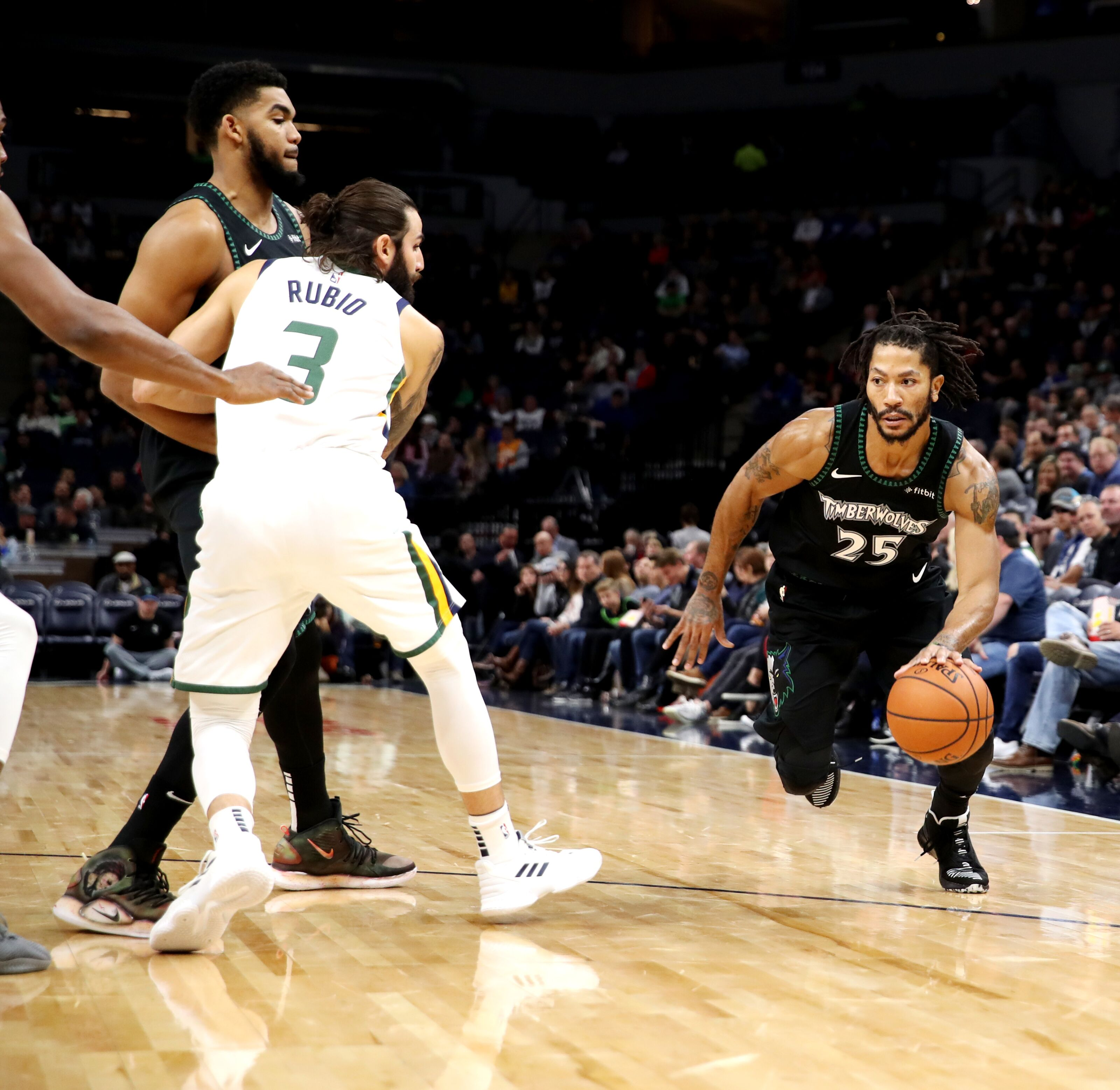 aad8cdcb Vintage D-Rose drops career-high 50 points, Utah Jazz lose in thriller
